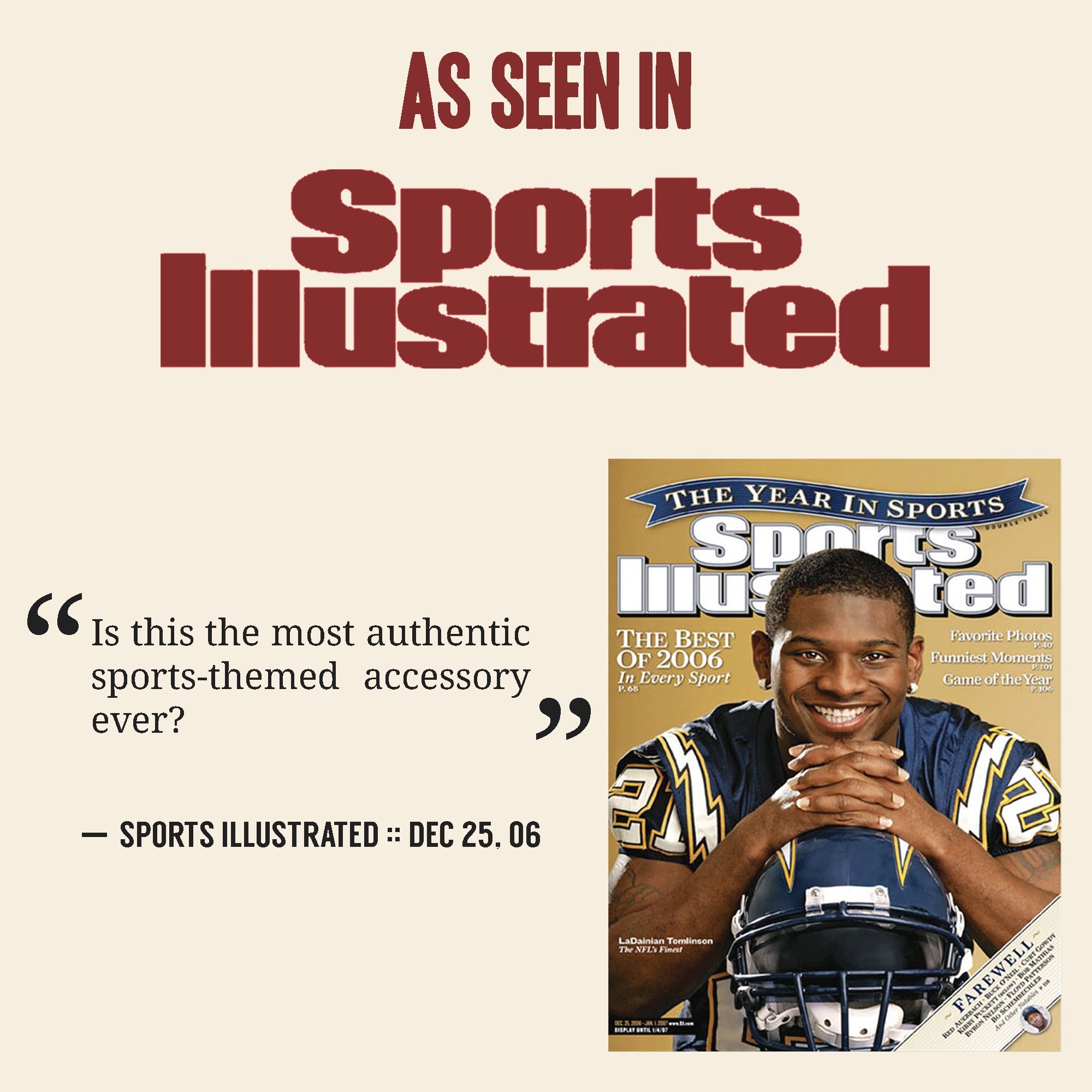 Sports Illustrated Gift Accessory