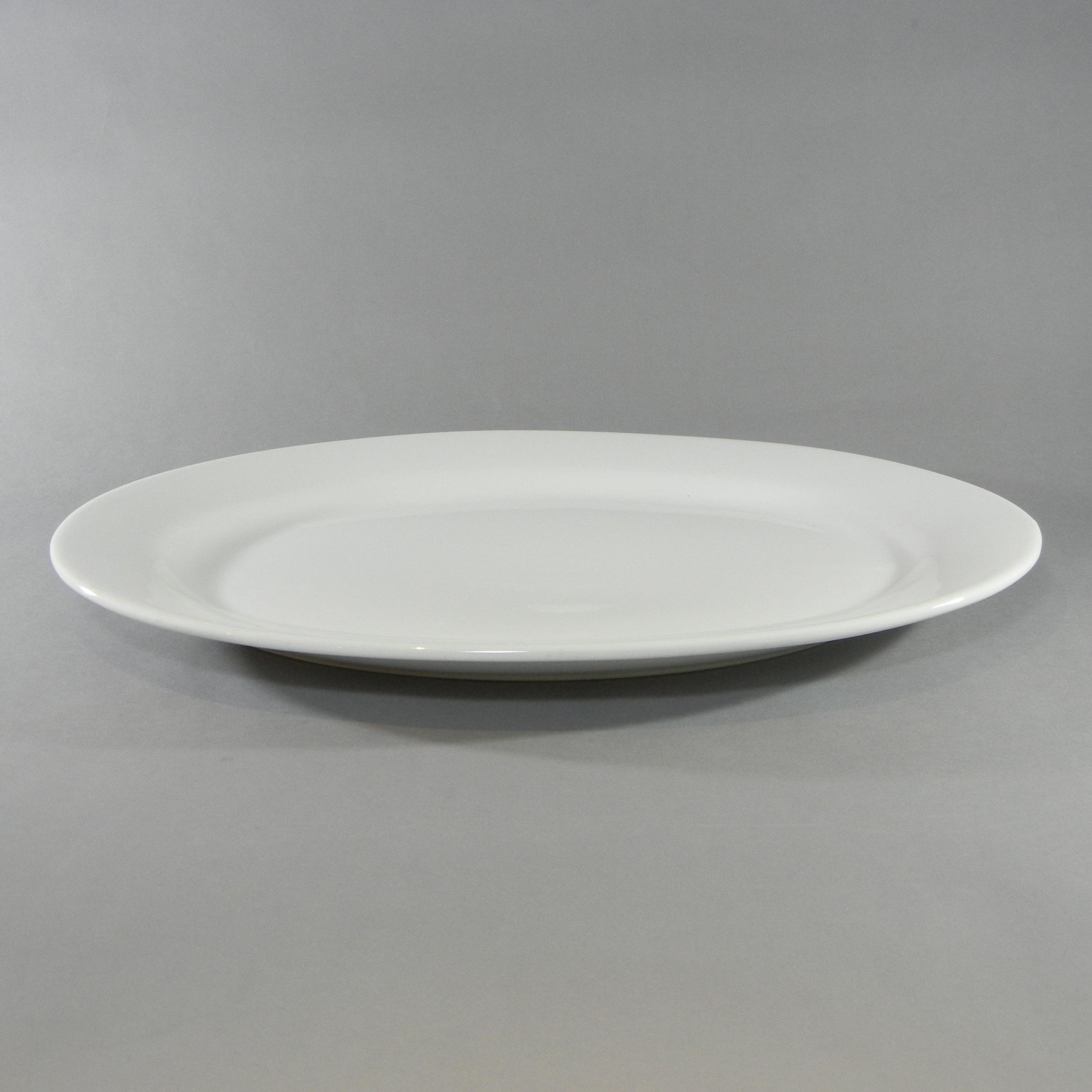 Oval Platter - J(18''x13'')