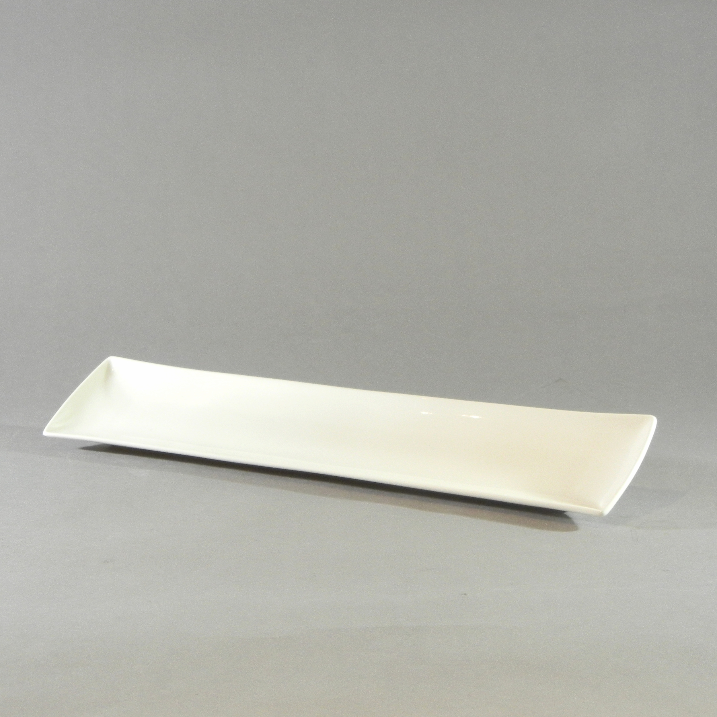 White Rectangular Tray (8''x2.25'')