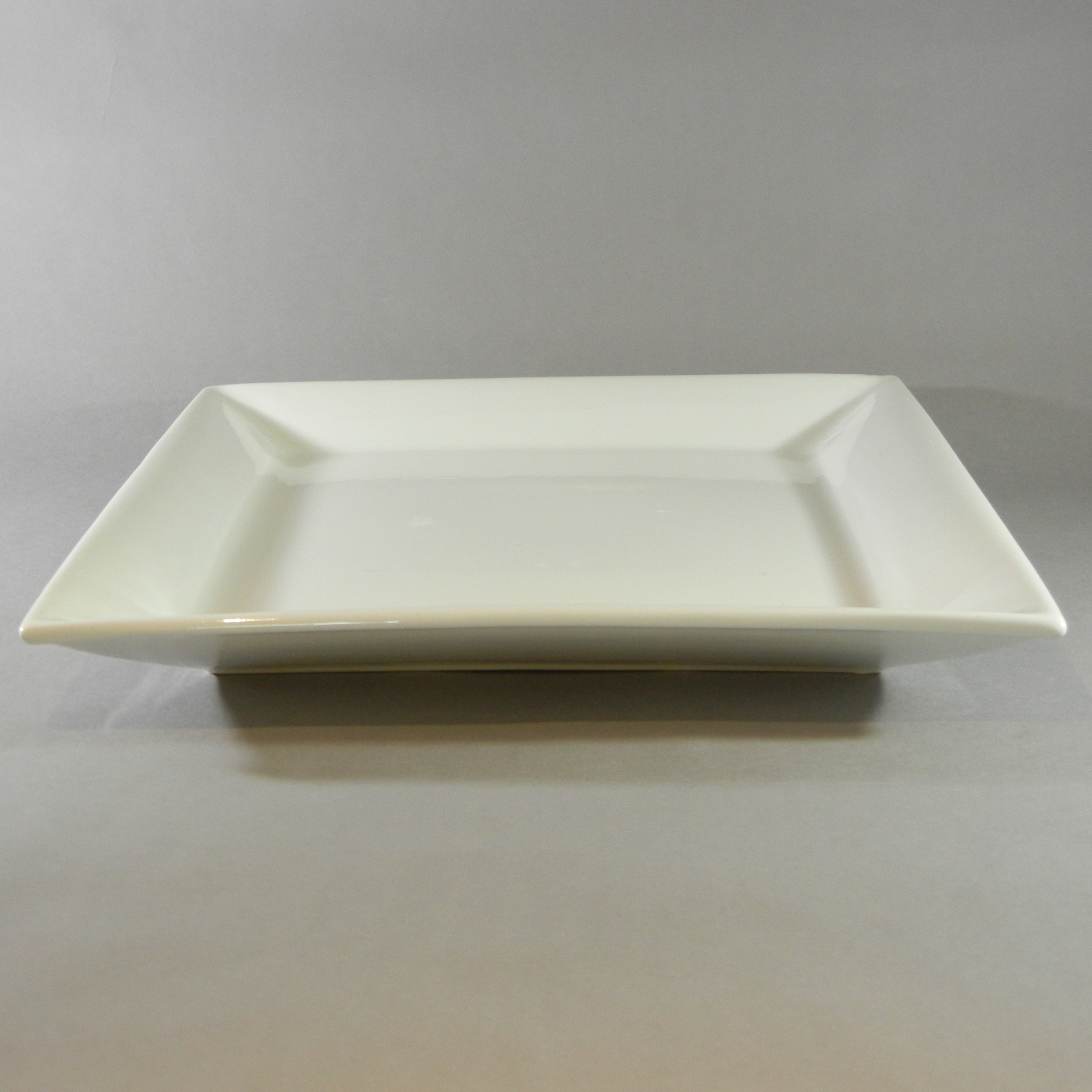 Large Porcelain Square Platters. Available in 16'' & 18''