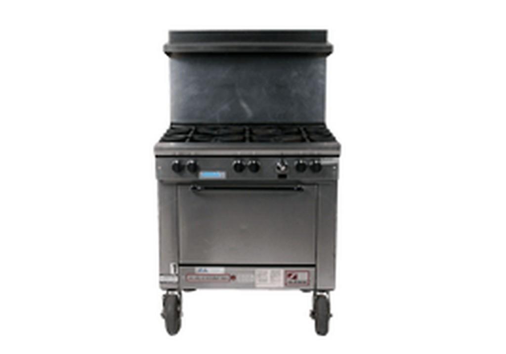 6 Burner Single Oven Range (Propane)