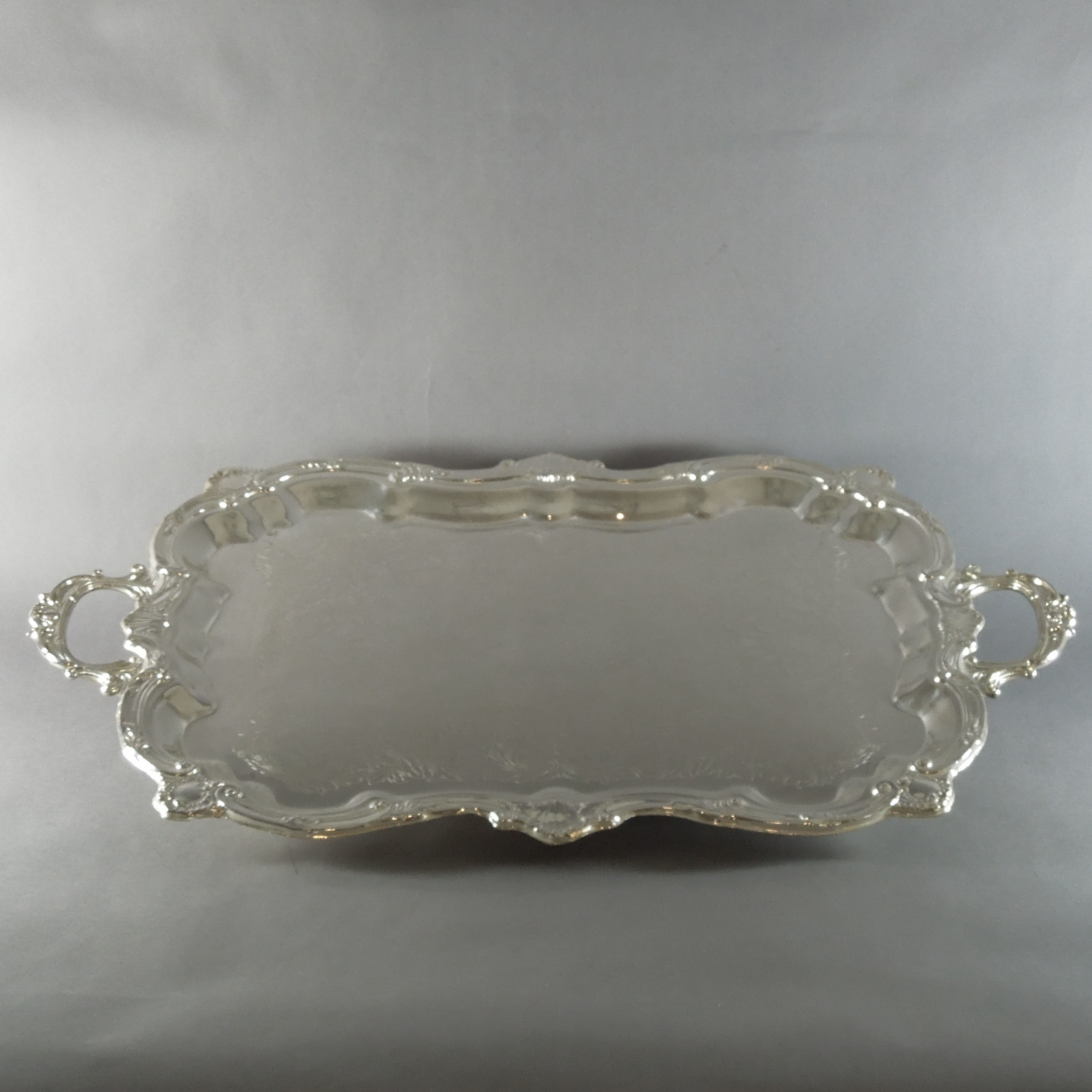 Silver Plated Rectangular Tray (24''x18'')