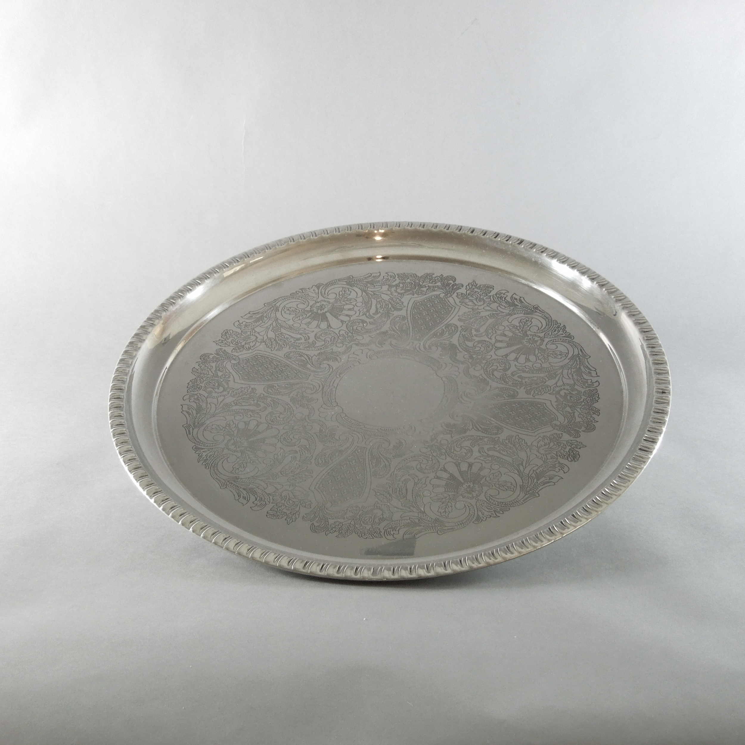 Silver Plated Tray (16'')