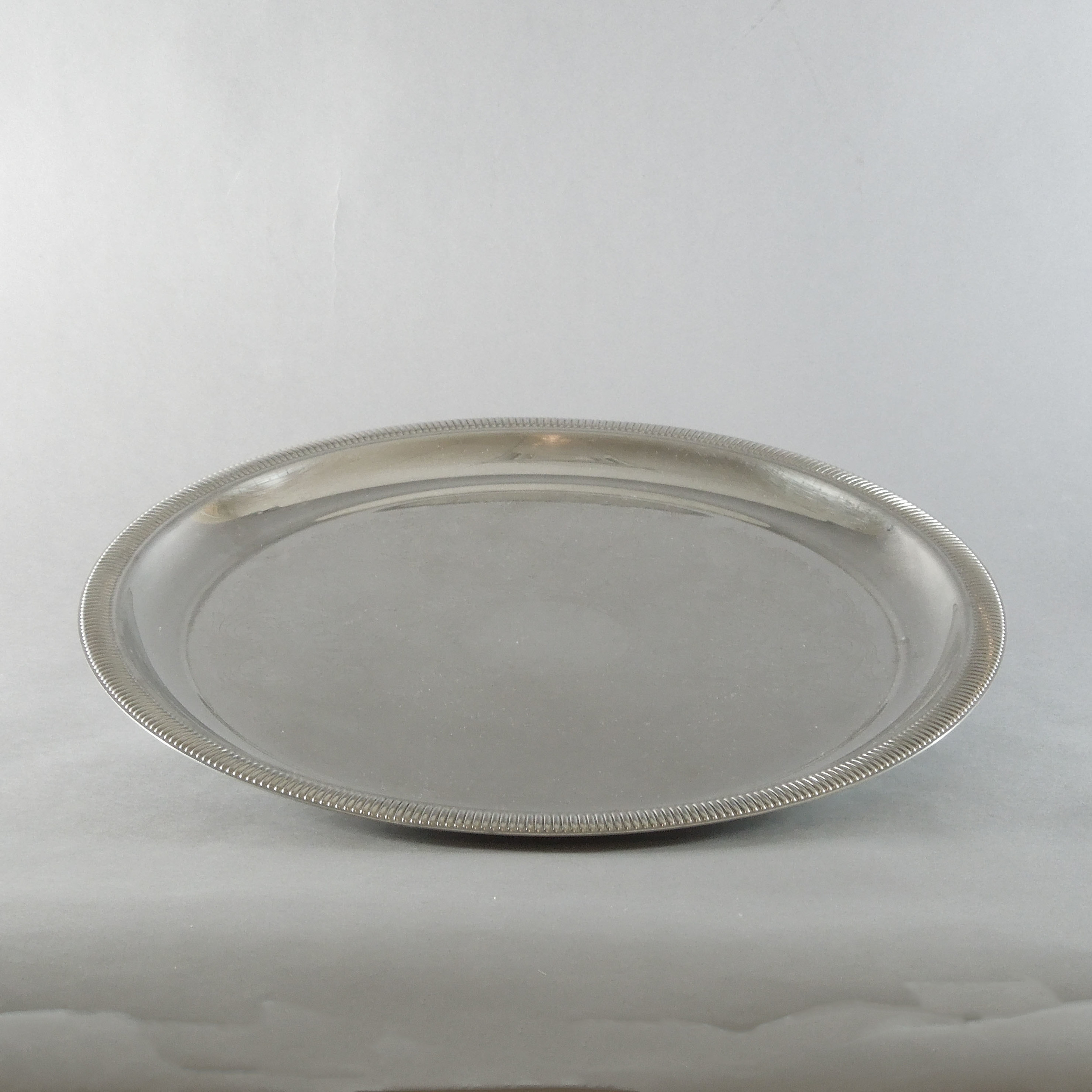 """Silver Plated Tray (15.5"""")"""