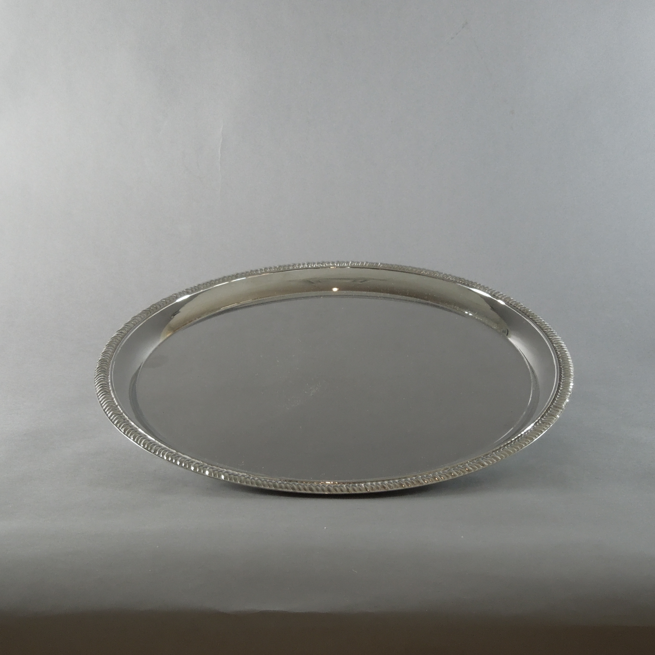 Silver Plated Tray (12'')