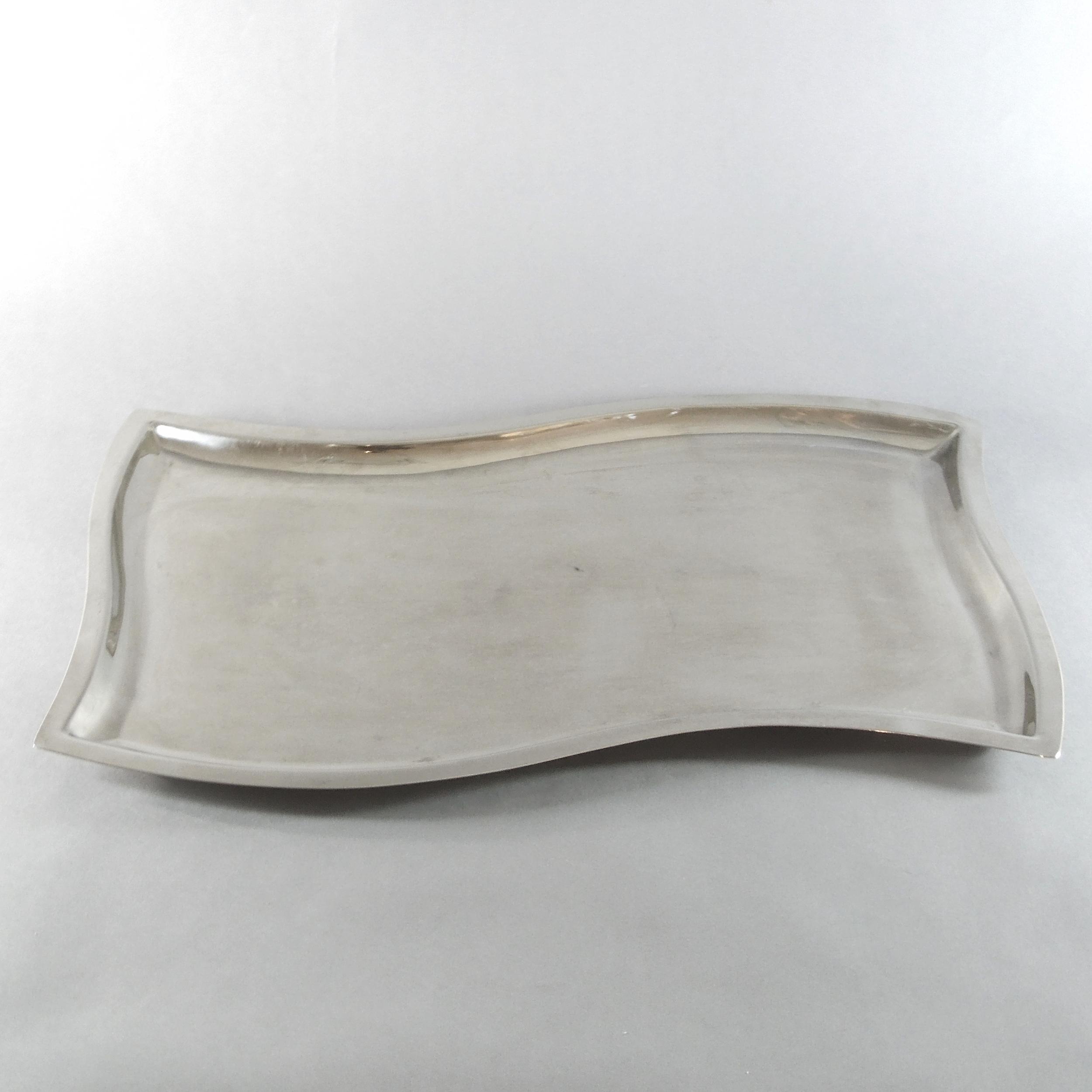 Wavy Rectangular Tray (21''x13'')