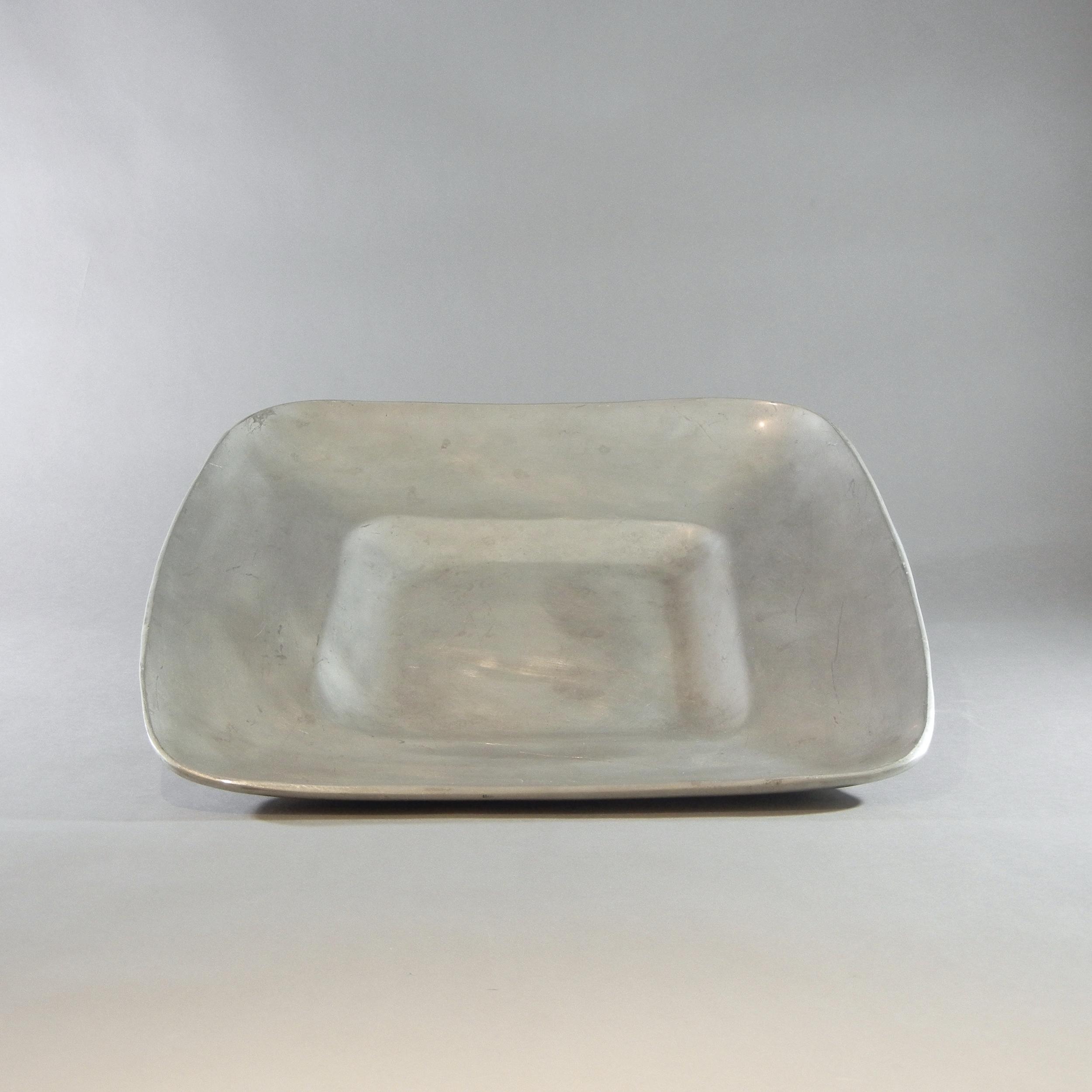 """Cast Aluminum Square Tray (17"""")"""