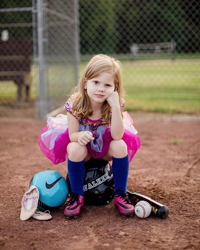 Forget glass slippers, this princess wears ball cleats! Those of you who know me personally can probably imagine how much I loved doing this session and how excited I am to photograph even more beautiful, sassy and fiercely competitive girls! #natashalynnphotography #girlyandstrong #feminineandfierce #fierceandfeminine #athleticgirls #girlscandoanything #girlscandoitall #girlpower #childphotography #wilkescountyphotographer #elkinphotographer #letthembelittle #letthembekids #childhoodunplugged #momswithcameras #communityovercompetition #sporty #ncchildphotographer #portraitphotography #portrait_perfection #minisession