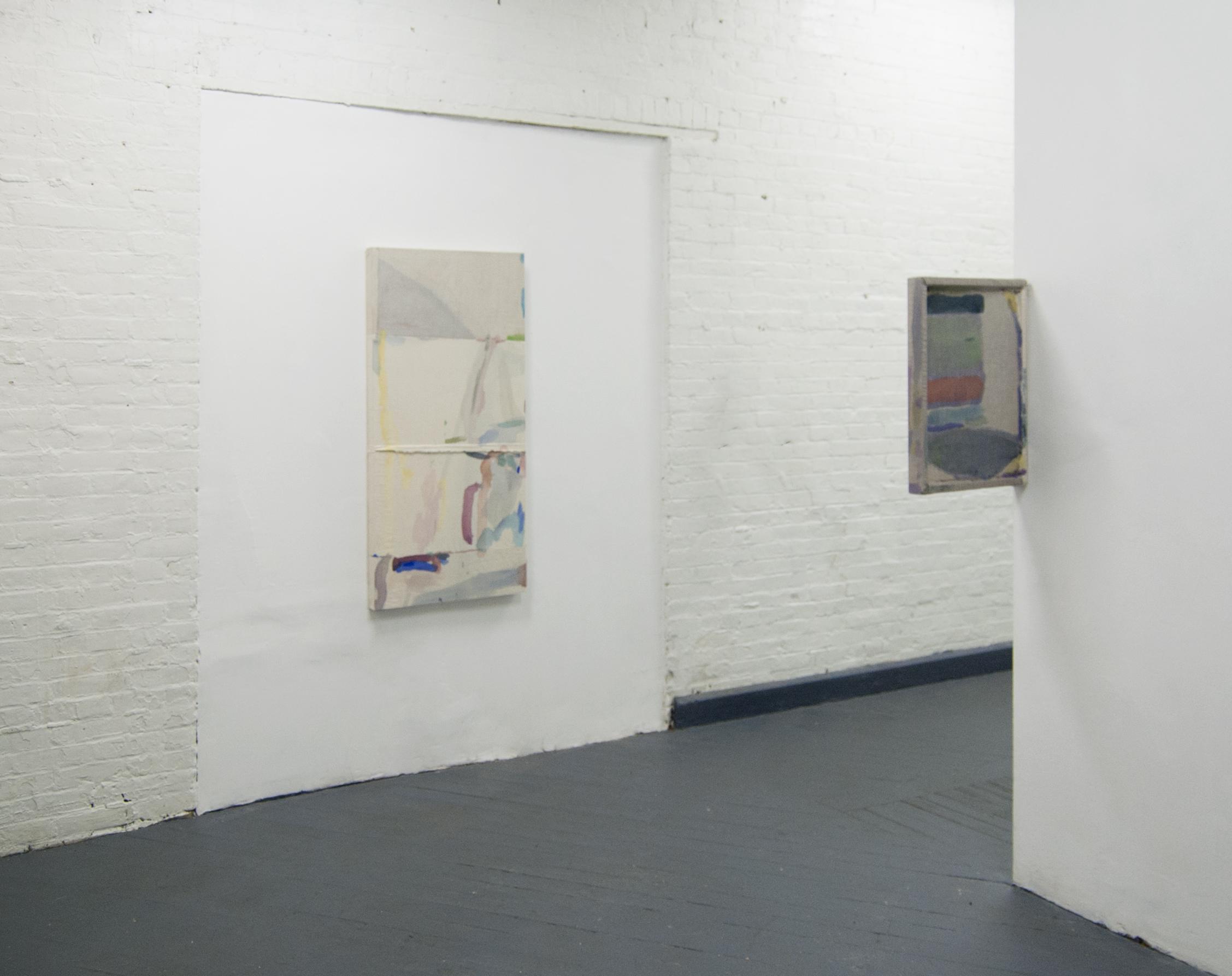 Darkroom Exhibition View at Ballroom gallery in Baltimore