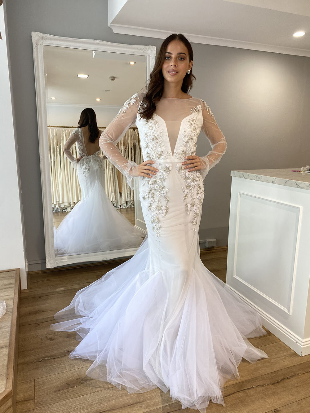 Isla Gown by Katherine Tash   Discounted Wedding Dress — The Bridal Atelier    Wedding Dresses   Melbourne & Sydney Stores