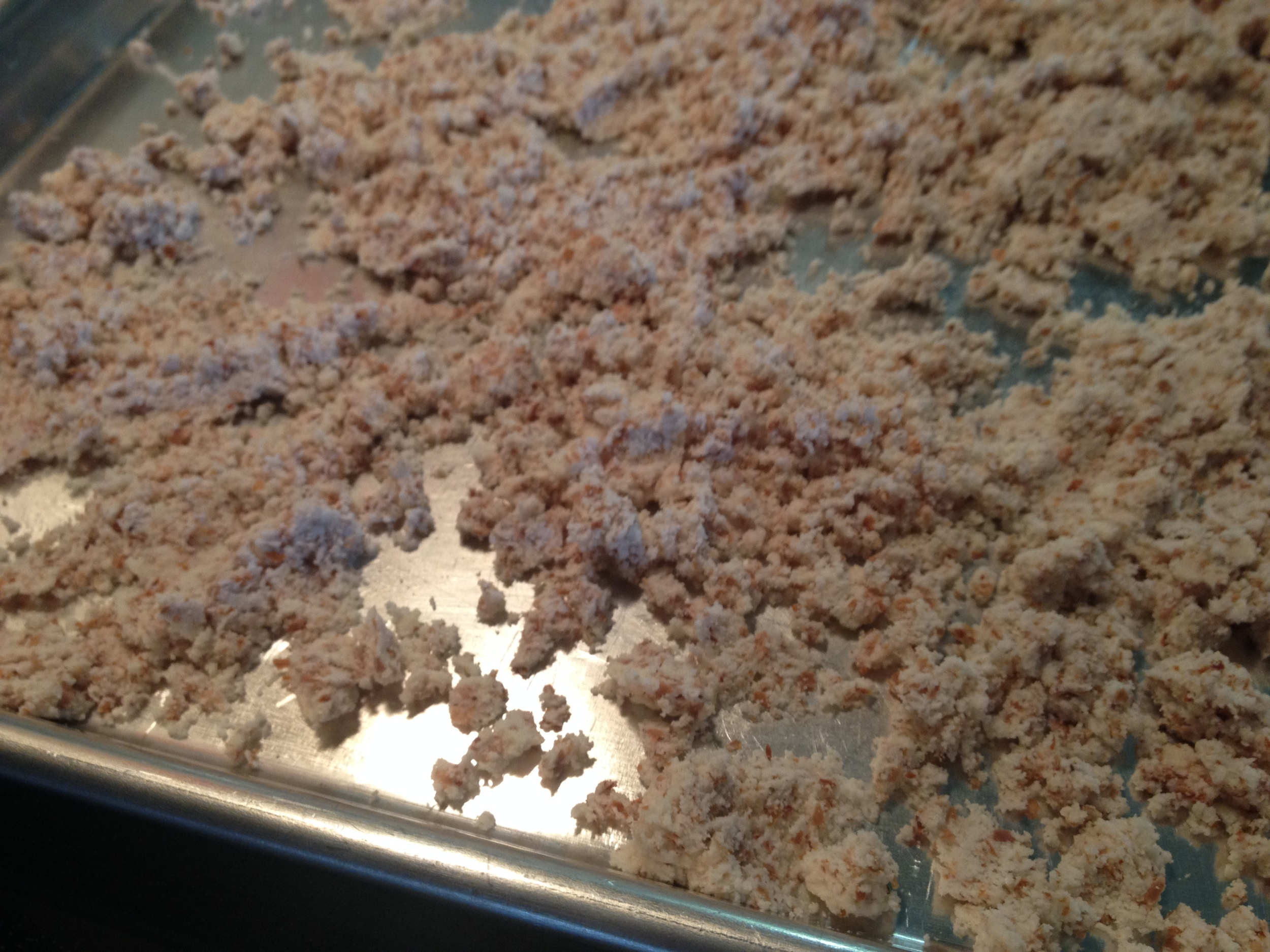 I even made homemade almond meal with the leftover ... almond shards? No idea what the right term is.