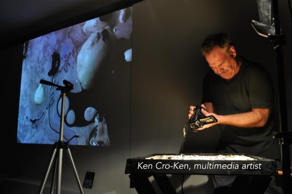 Ken Cro-Ken, multimedia artist.jpg