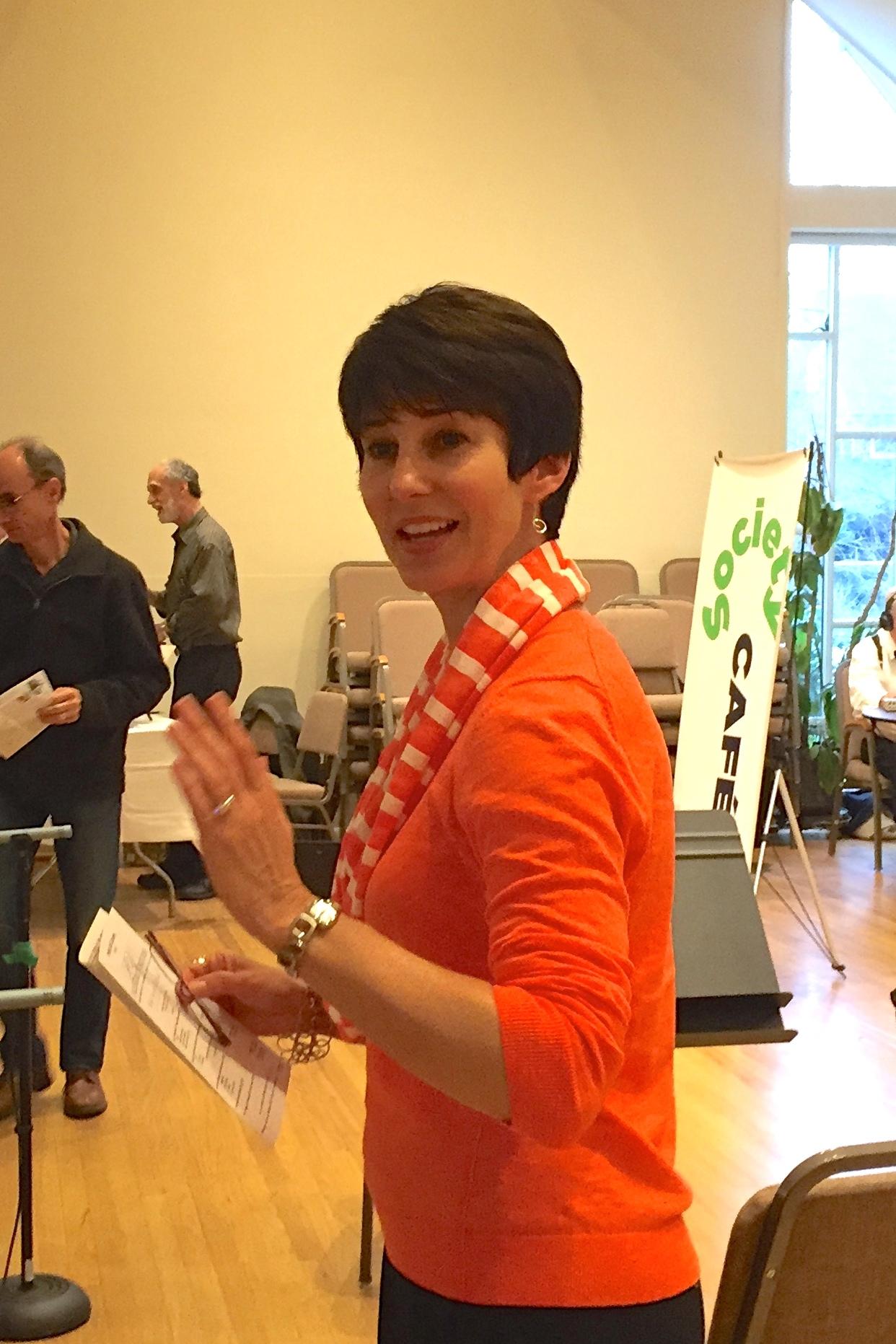Soprano Kristin Plumley