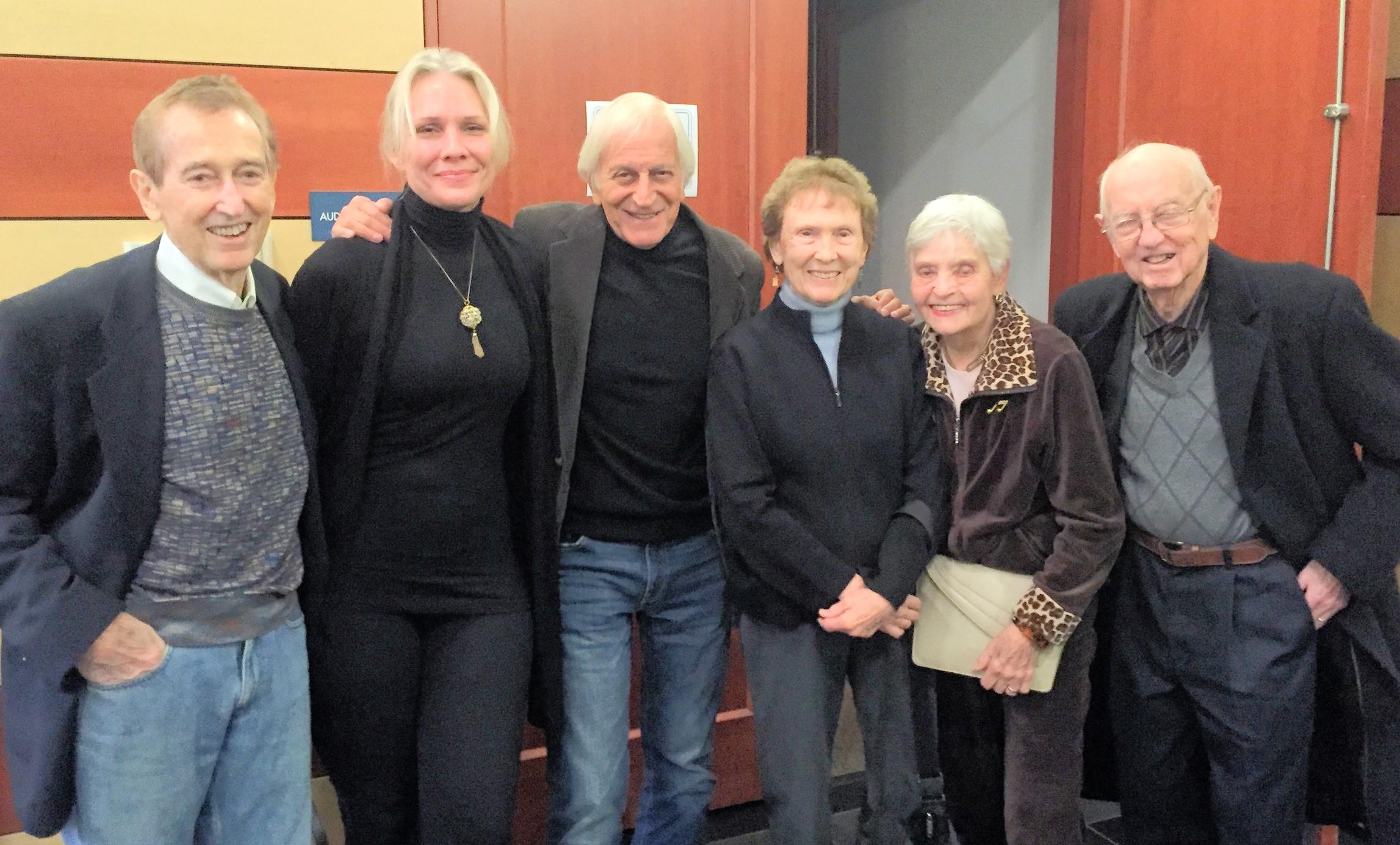 Bob McGrath, Stevie Holland, Gary Friedman, Ann McGrath, Vye Messner & Fred Messner