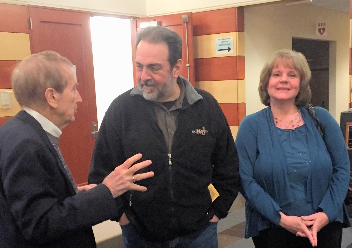 Bob McGrath, John & Kathy Palatucci