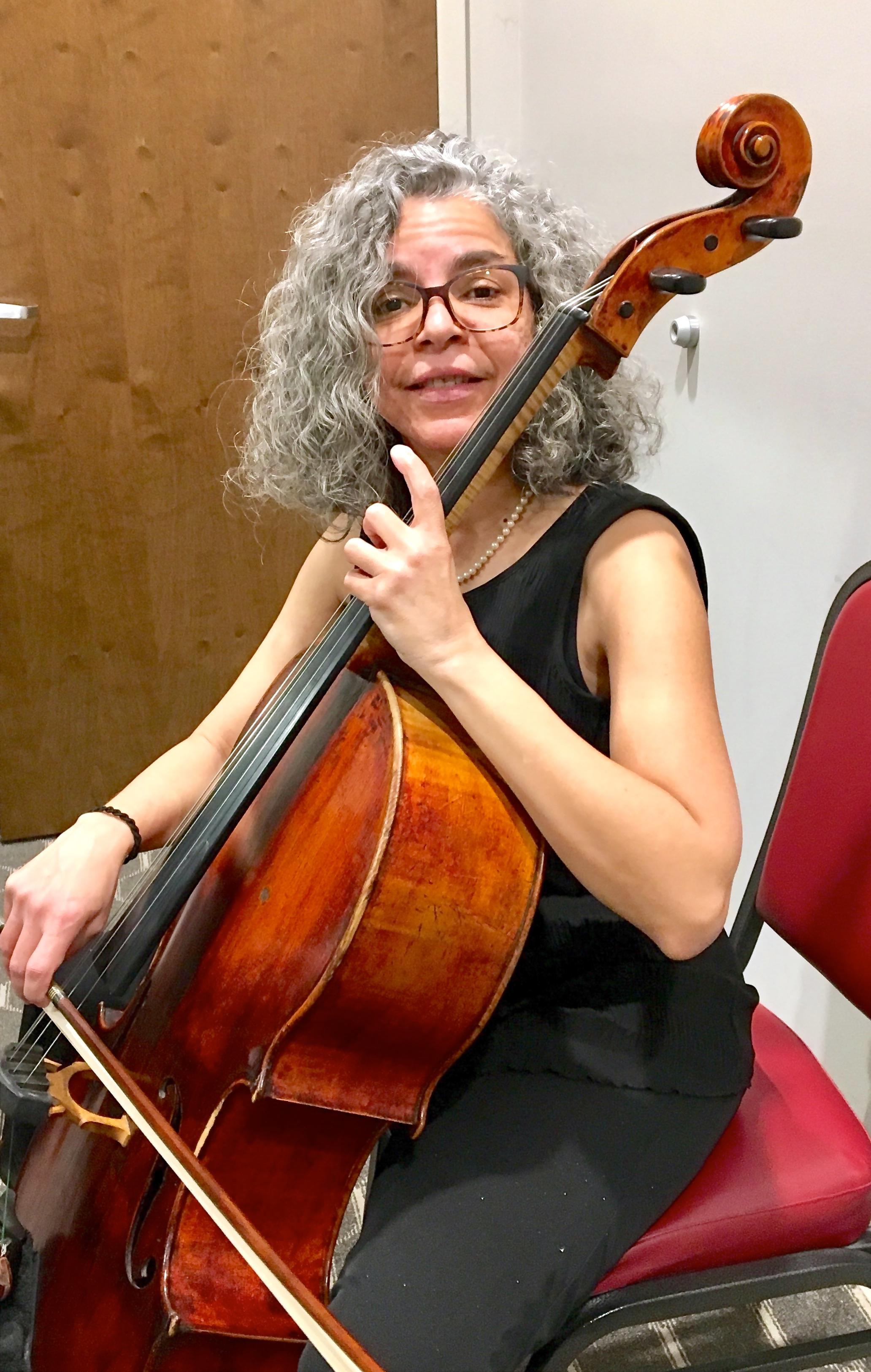 Marisol Espada, cello
