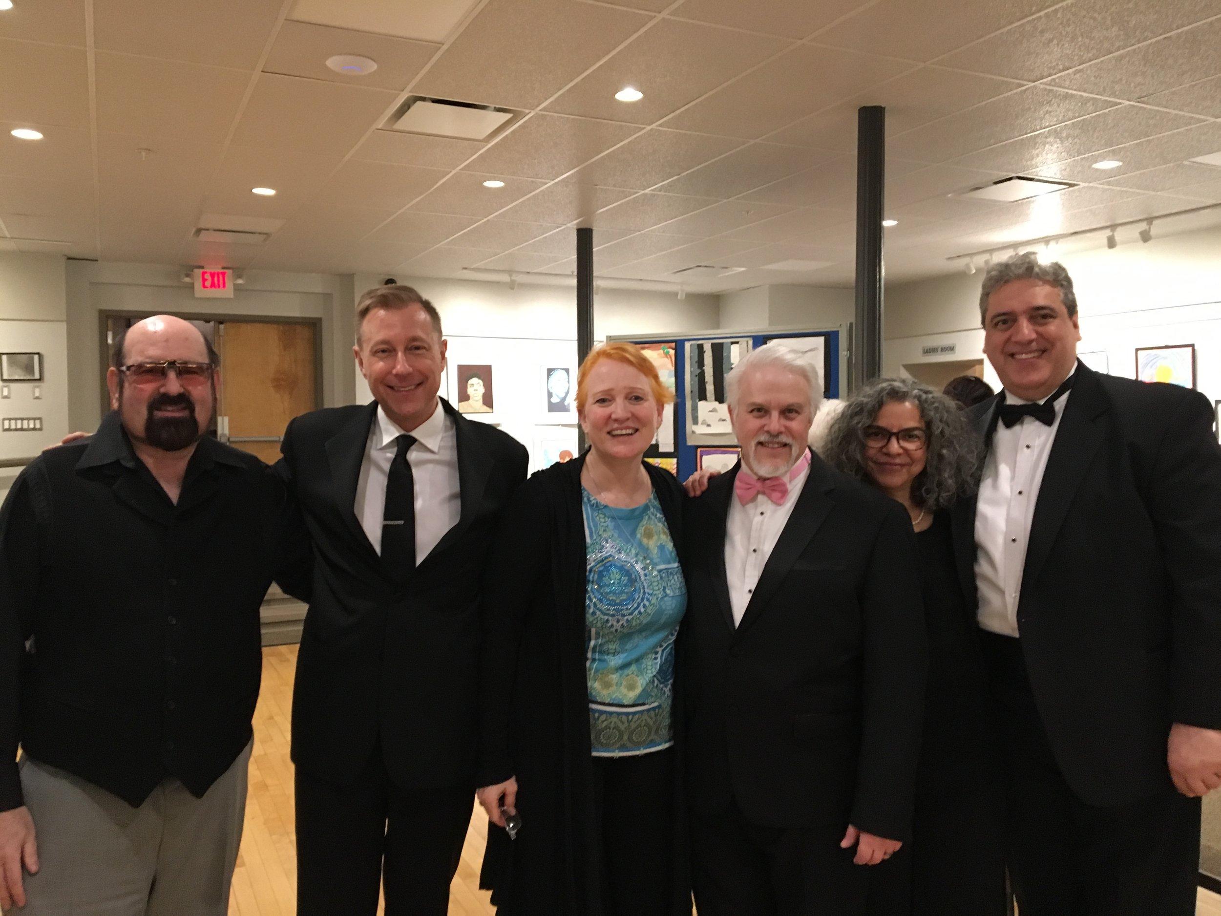 PV with composer Jeffrey Kaufman, Frank Basile & Marisol Espada