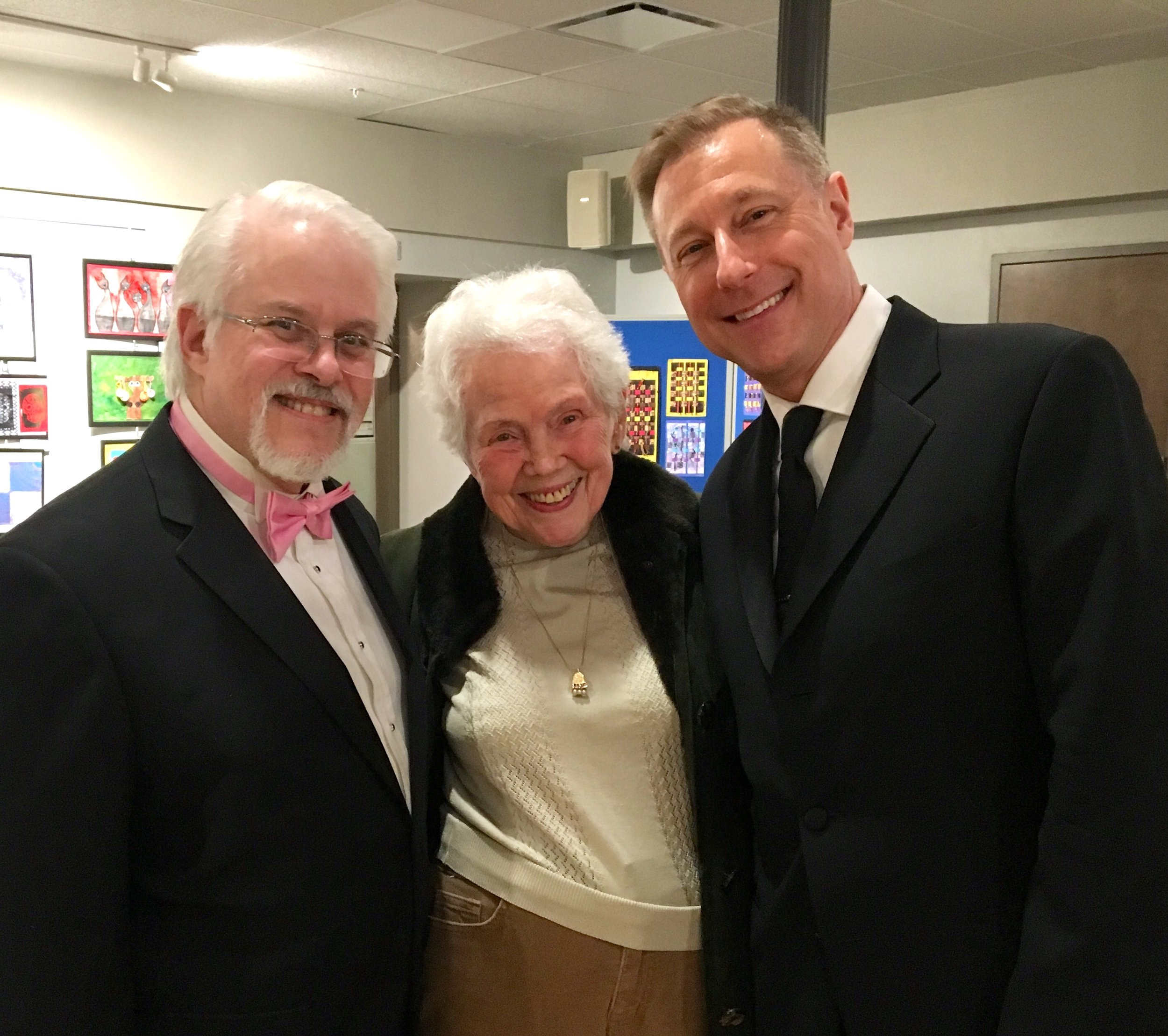 Ron & Don with Dorothy Schroth
