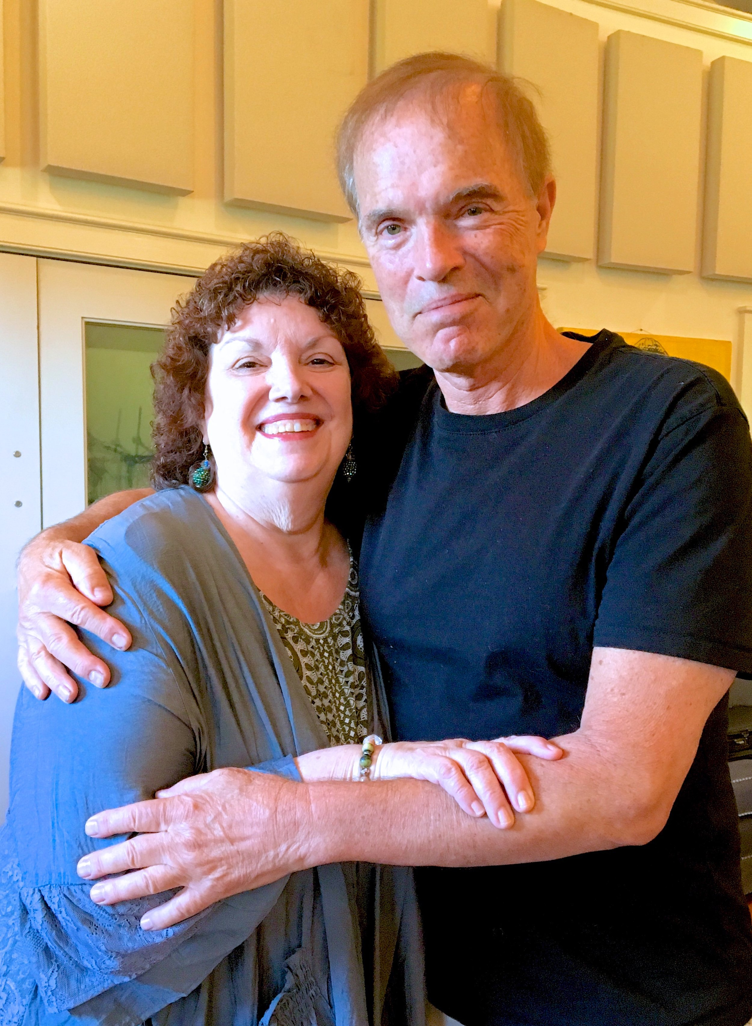 Barbara Dever with producer, John Ostendorf