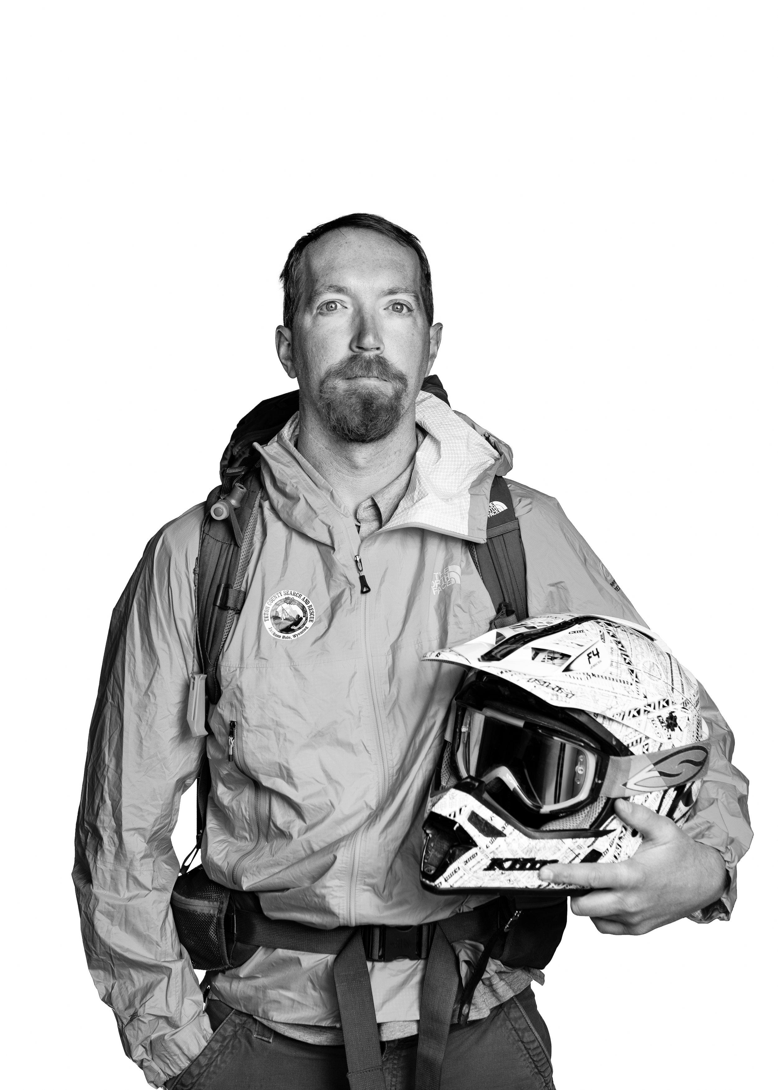TCSAR volunteer Doug VanHouten