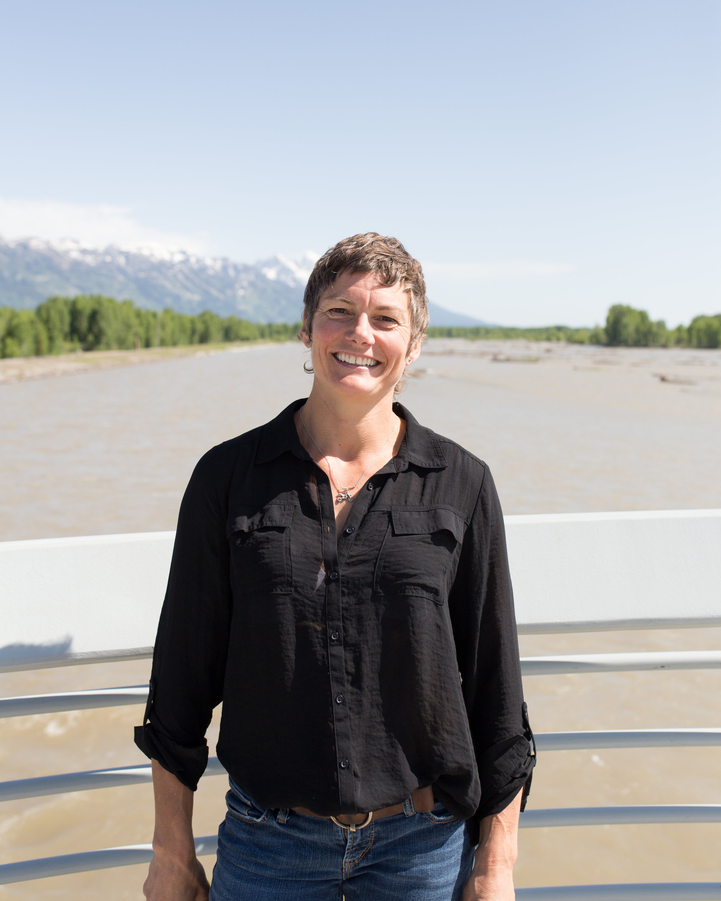 Kate Schade, founder of Kate's Real Food.