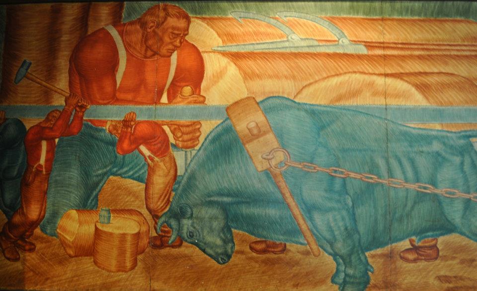 Paul Bunyan Mural