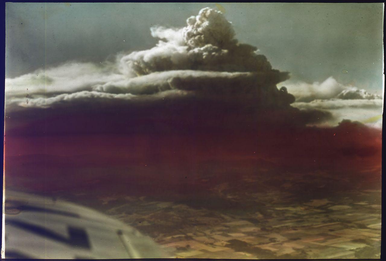 Tillamook Burn from the sky, 1933
