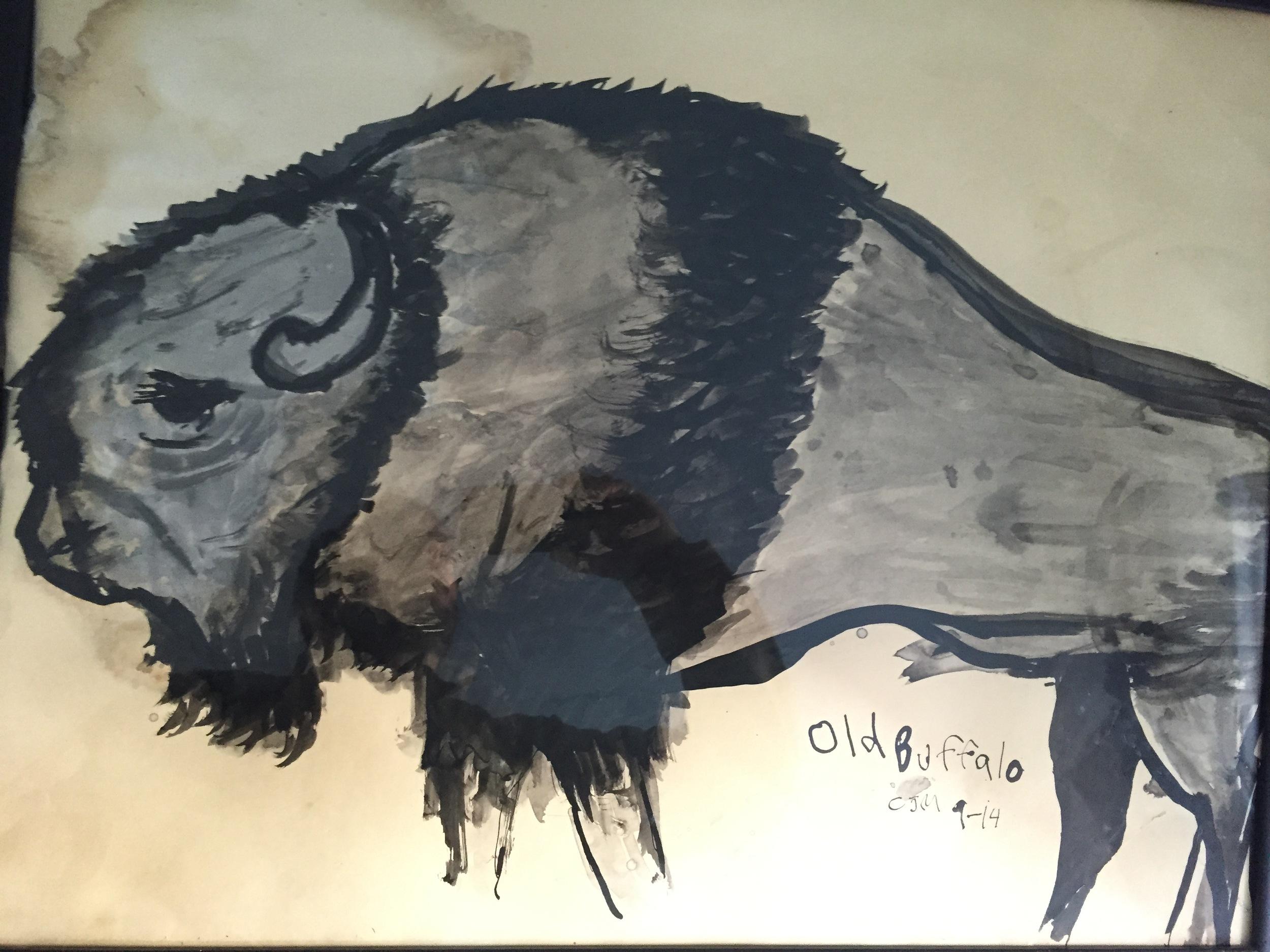 old buffalo - caleb mannan, 2014