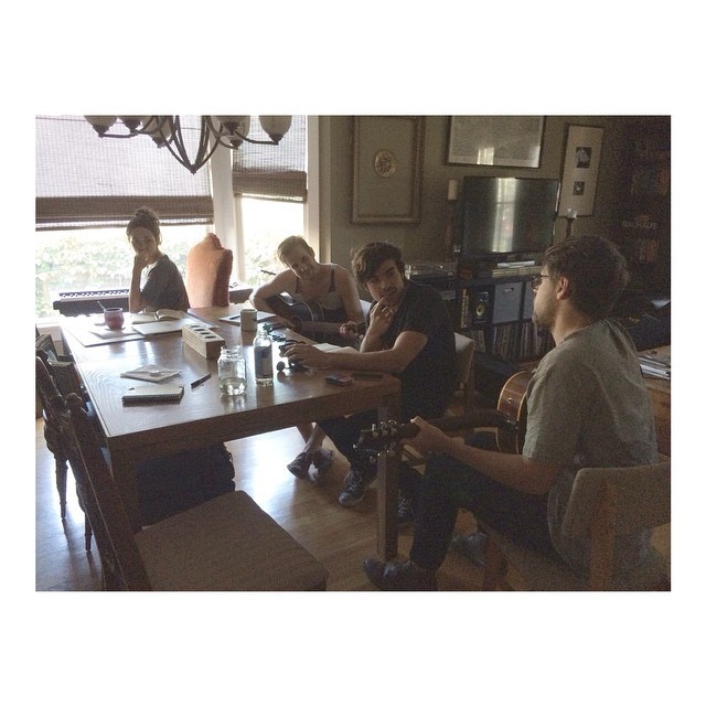 Coffee and co-write with my good friends  The Saint Johns  (Jordan Meredith & Louis Johnson) and  Wes Harllee