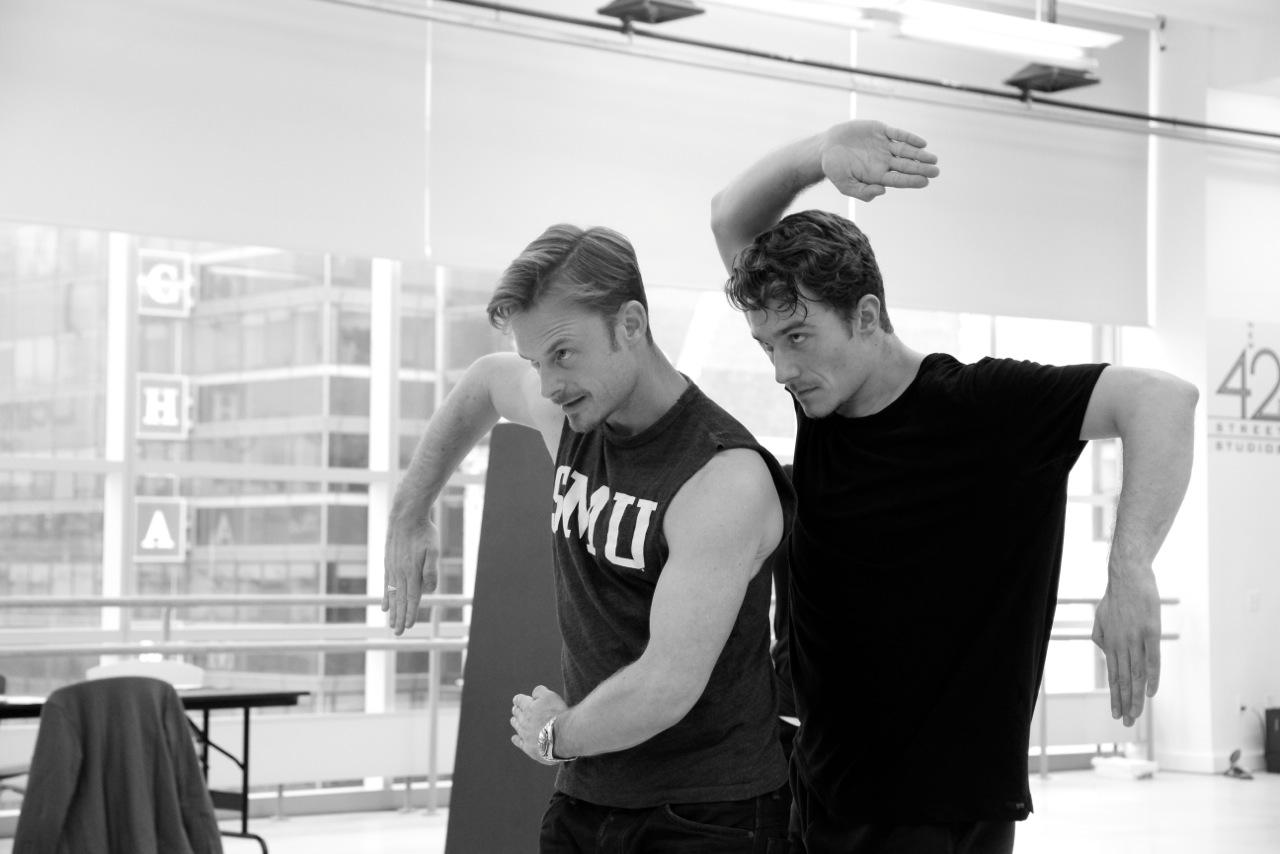 "Working with Christopher Wheeldon on"" An American In paris"" Photo: Matt Trent Photography"