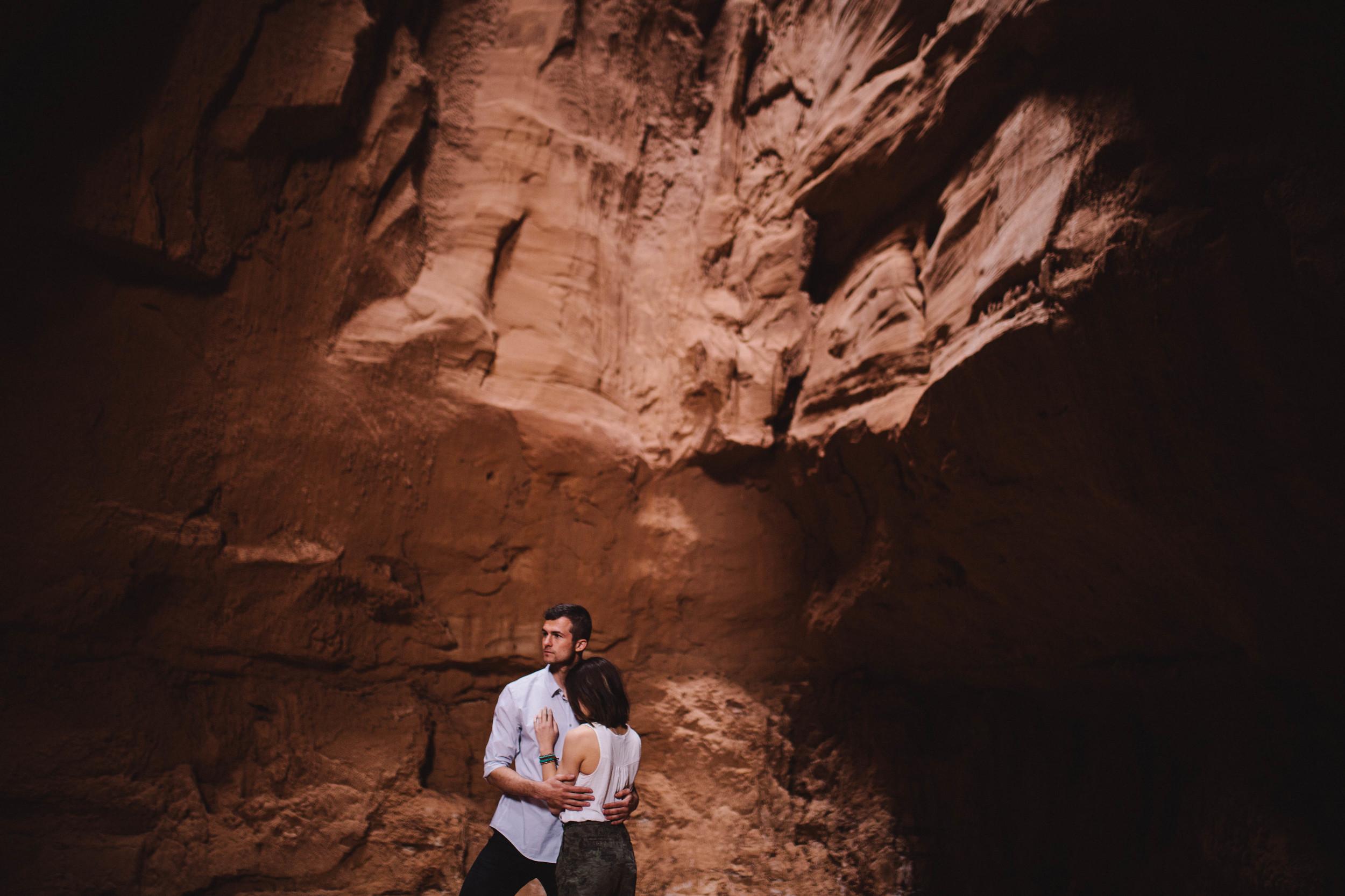 Niki & Derek -- Goblin Valley Love Story -- Whitney Justesen Photography-33.jpg