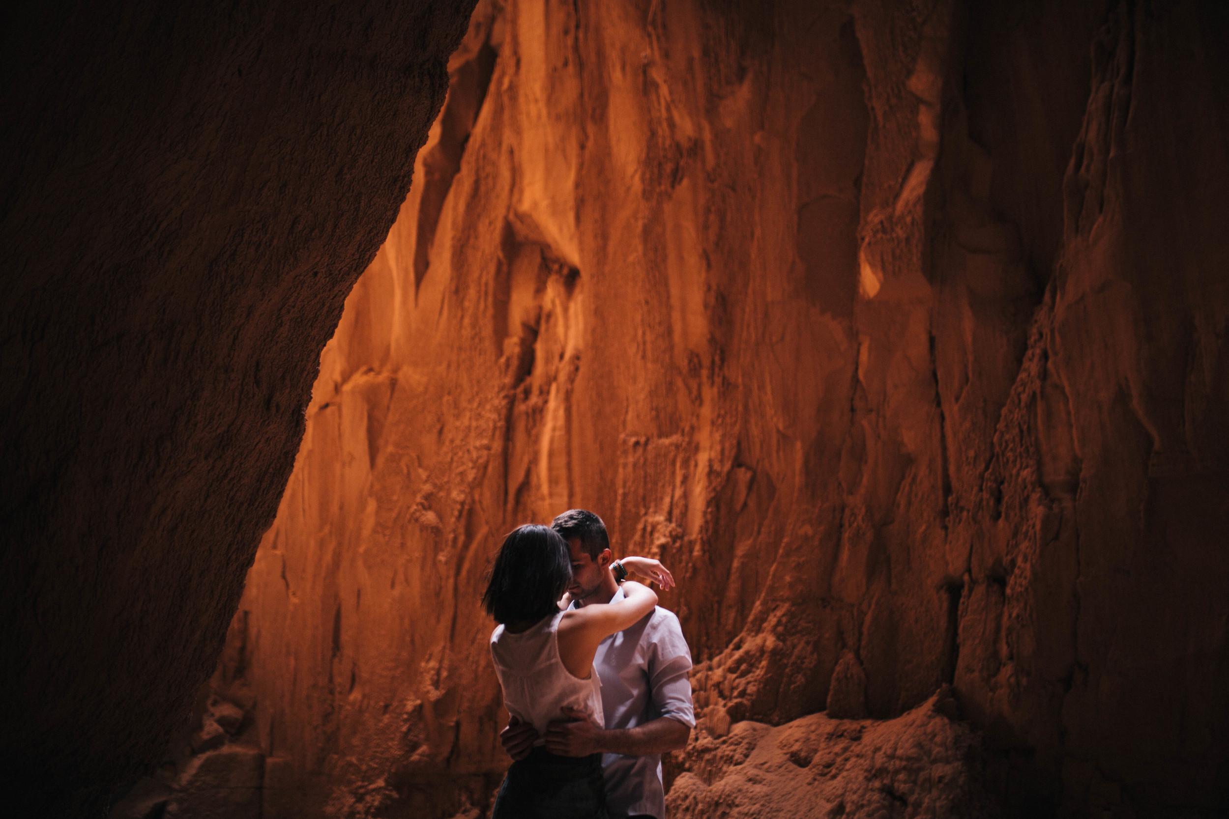 Niki & Derek -- Goblin Valley Love Story -- Whitney Justesen Photography-11.jpg