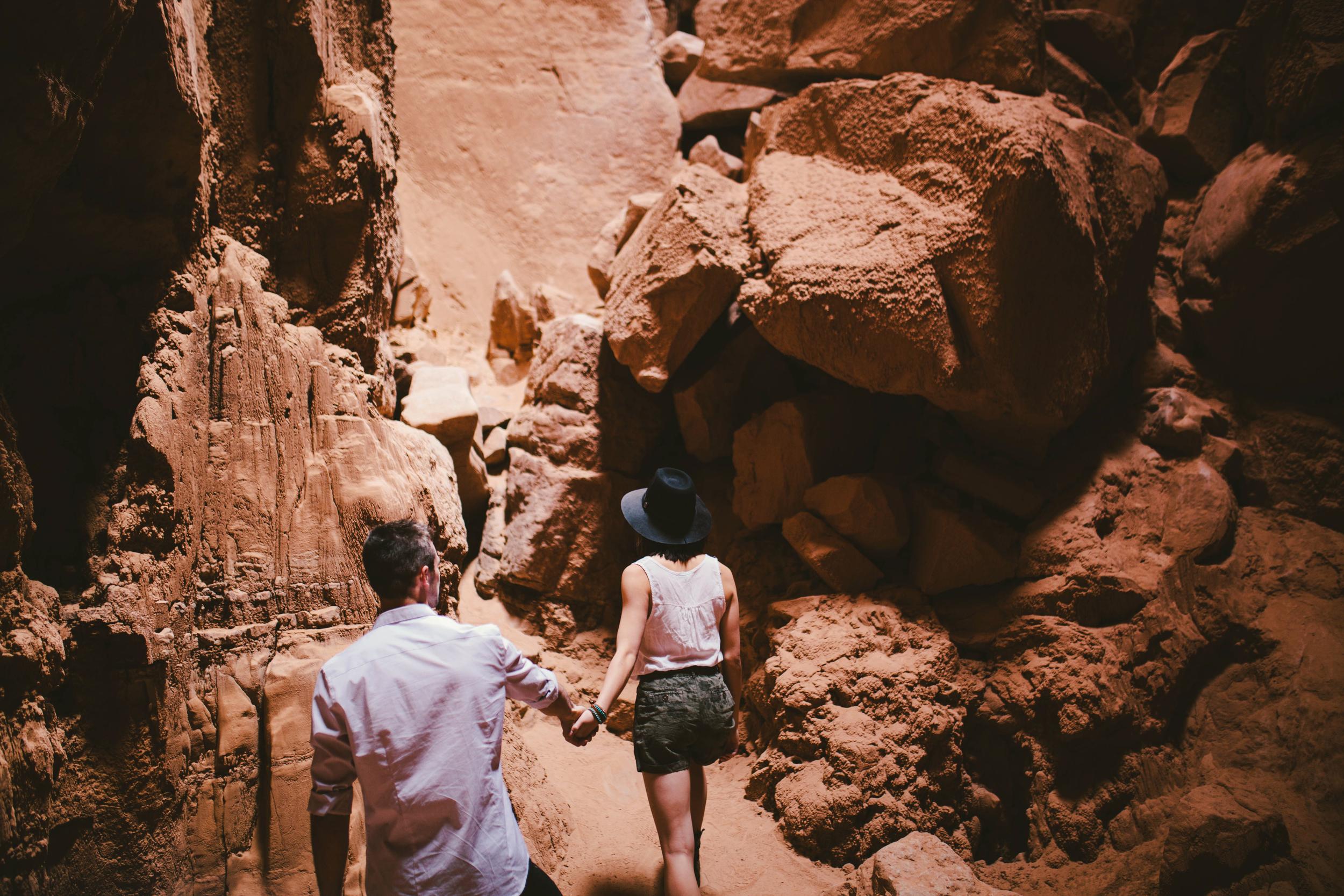 Niki & Derek -- Goblin Valley Love Story -- Whitney Justesen Photography-23.jpg