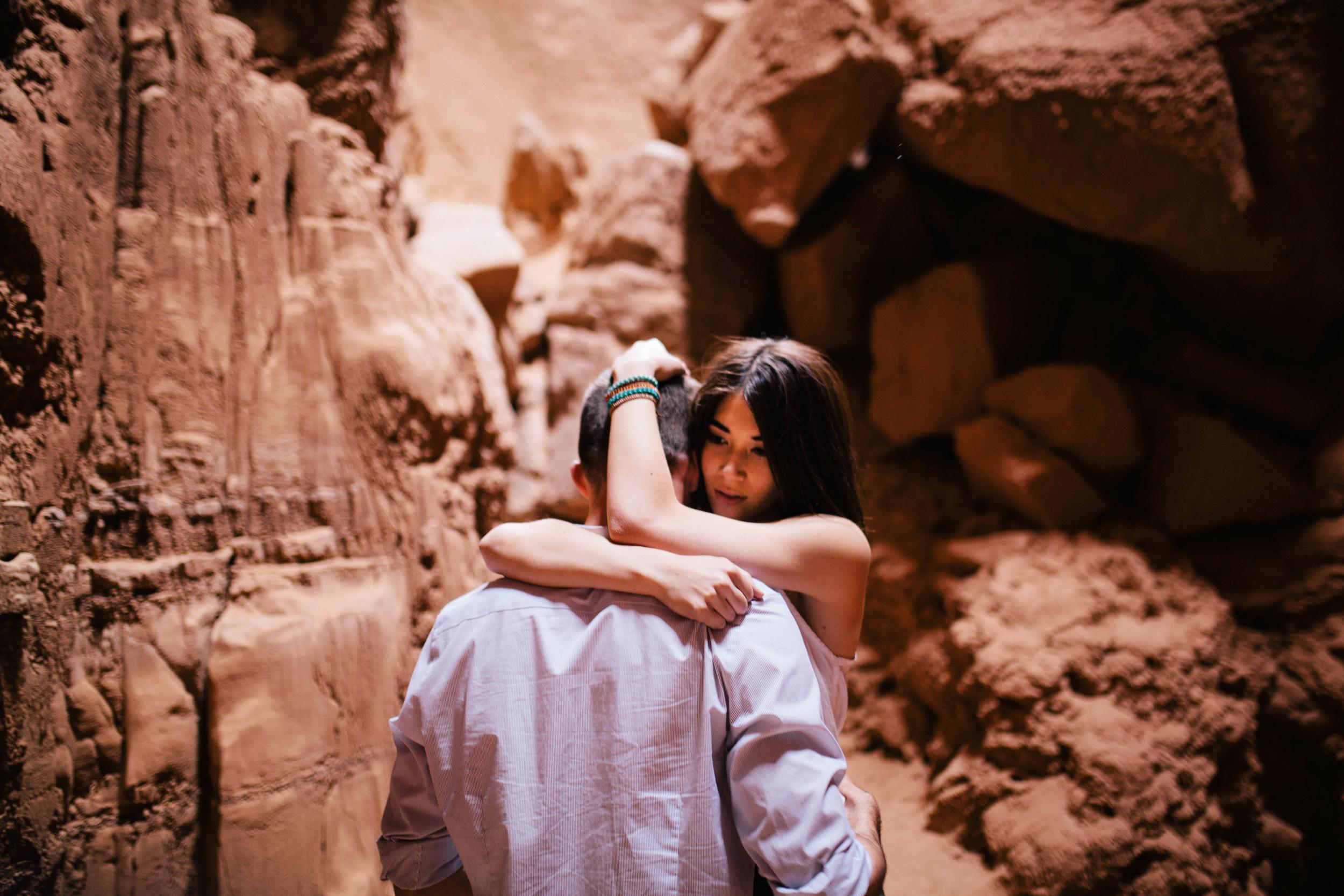 Niki & Derek -- Goblin Valley Love Story -- Whitney Justesen Photography-25.jpg