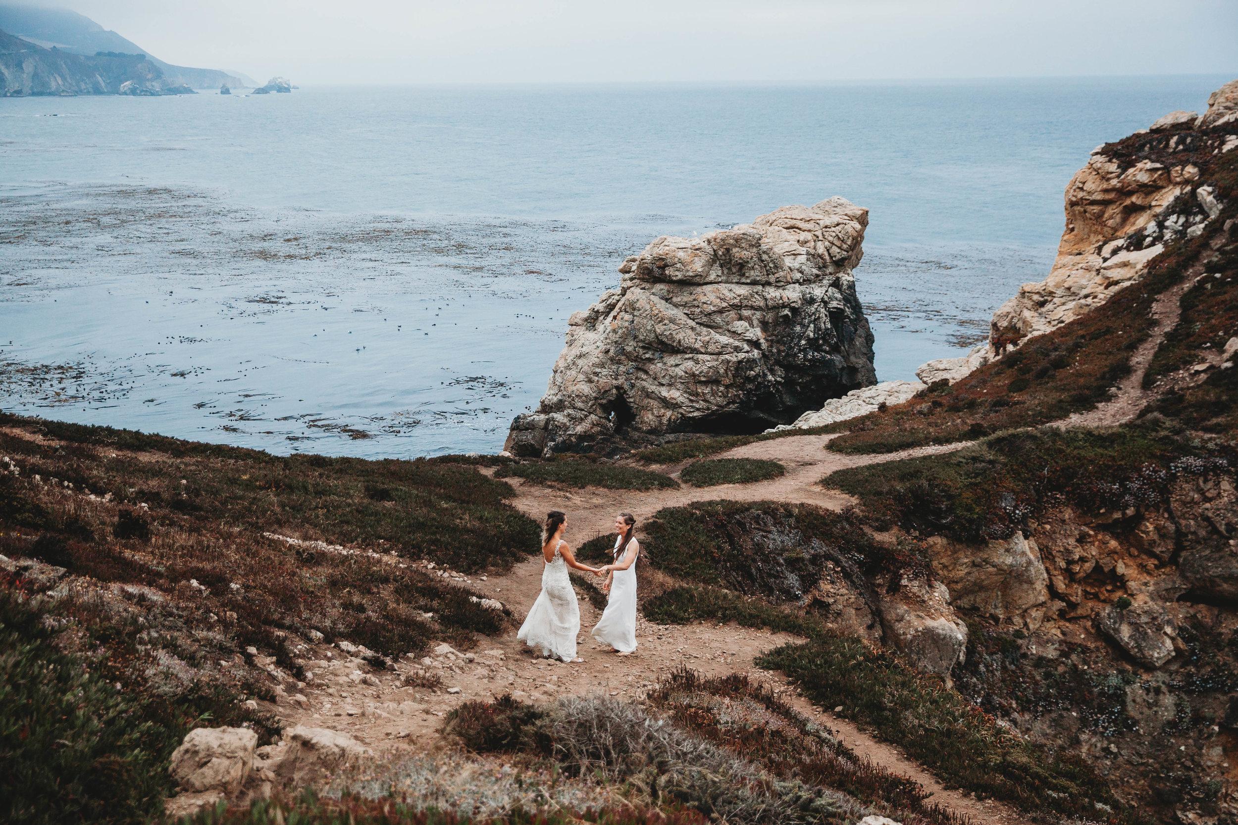 Meaghan + Jen -- An Intimate Big Sur Elopement -- Whitney Justesen Photography-273.jpg