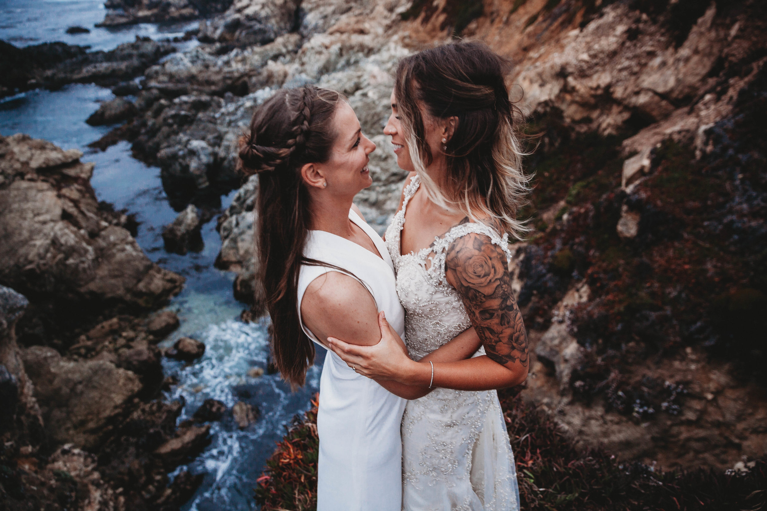 Meaghan + Jen -- An Intimate Big Sur Elopement -- Whitney Justesen Photography-289.jpg
