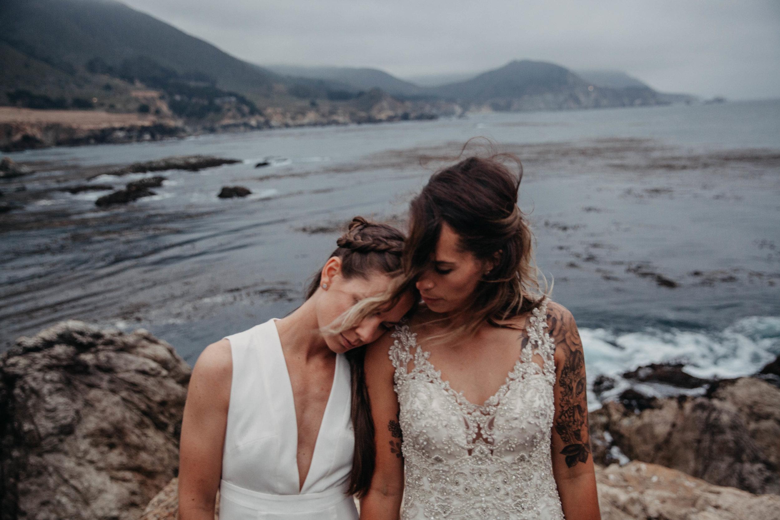 Meaghan + Jen -- An Intimate Big Sur Elopement -- Whitney Justesen Photography-314.jpg