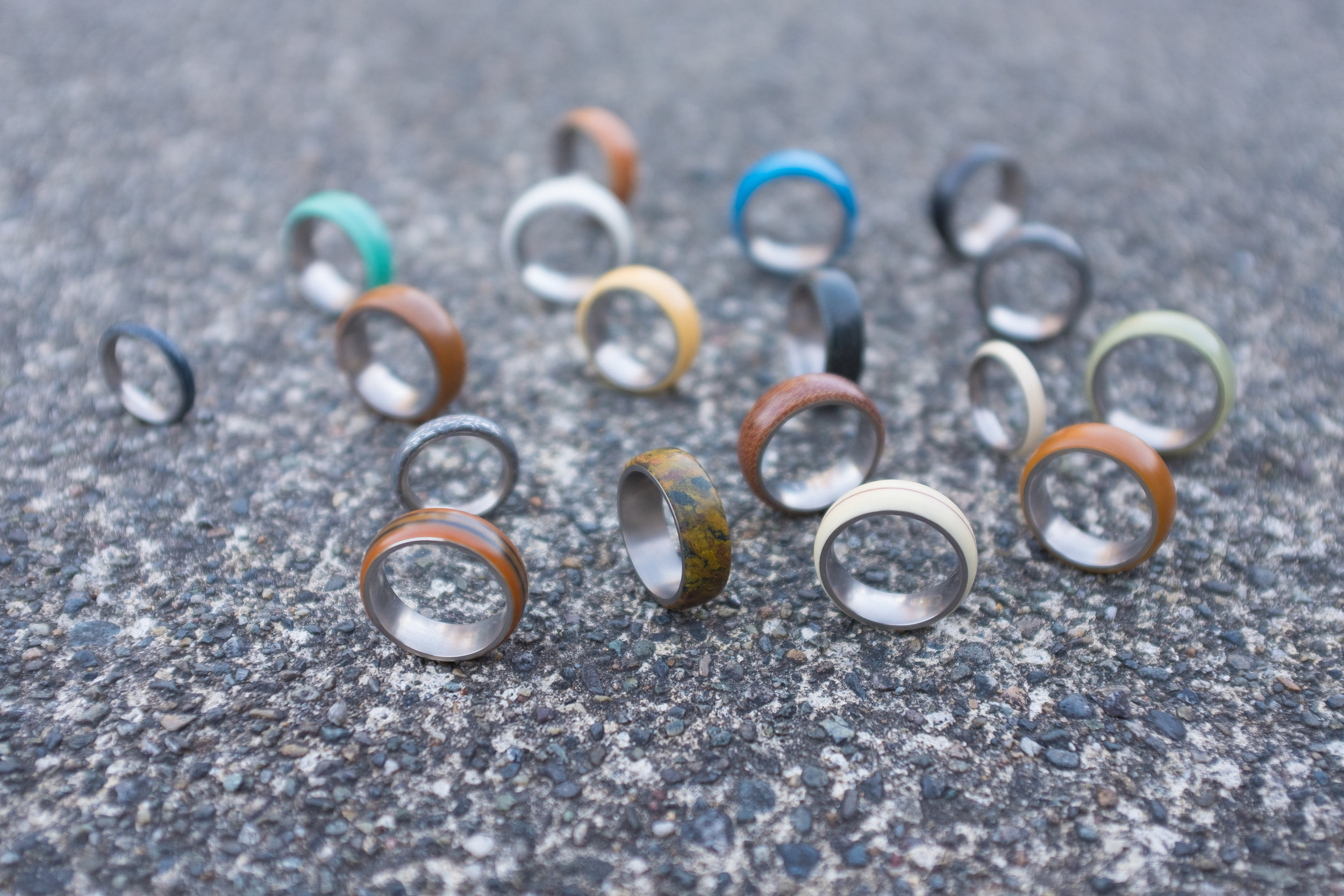 Curious Made Rings