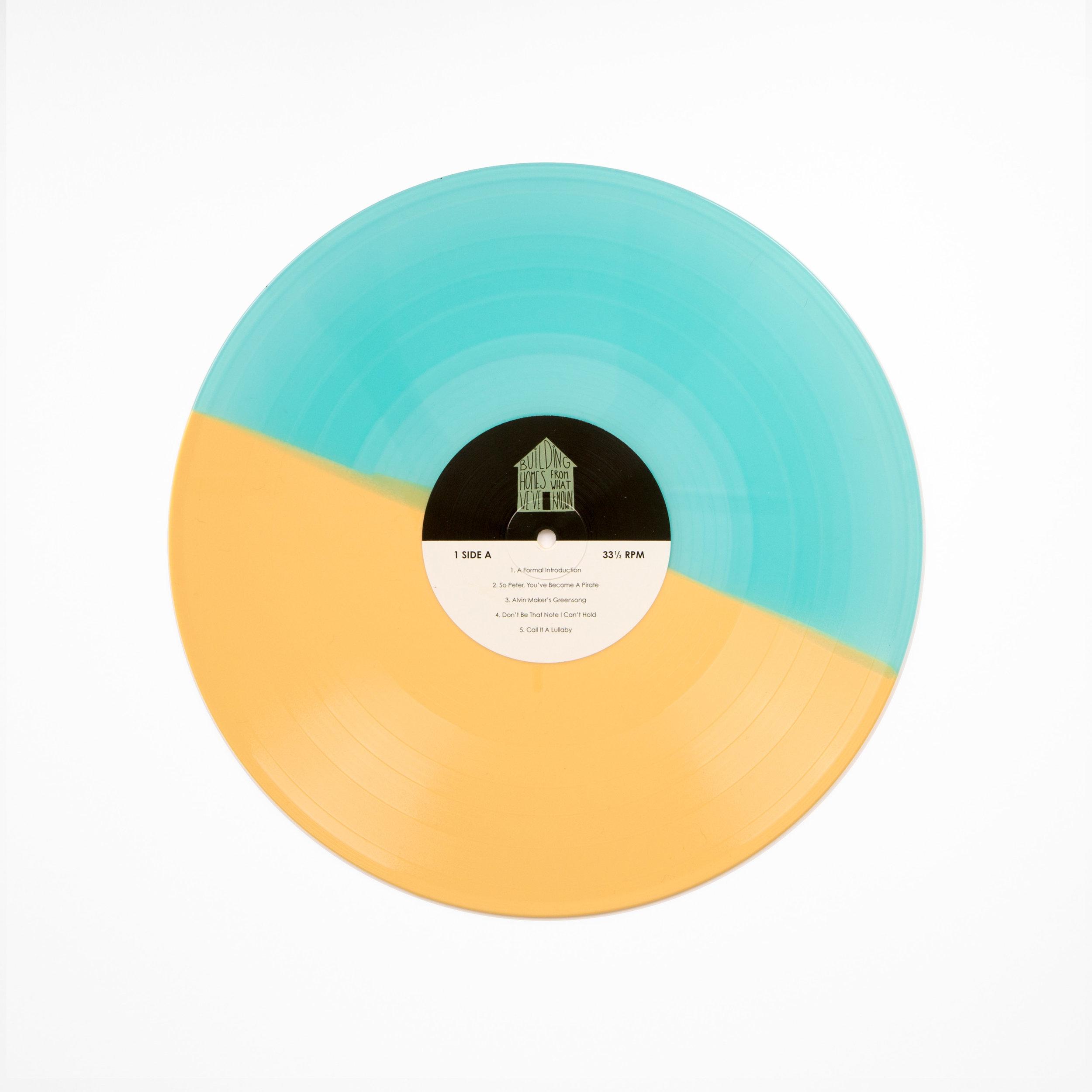 The Scene Aesthetic - Self Titled Vinyl Half Half.jpg
