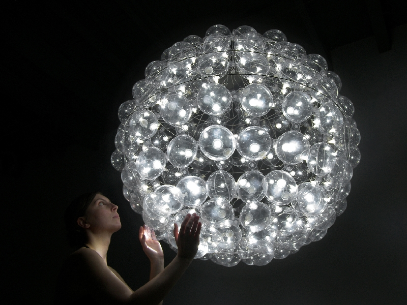 Bubbles Chandelier - Puff Buff