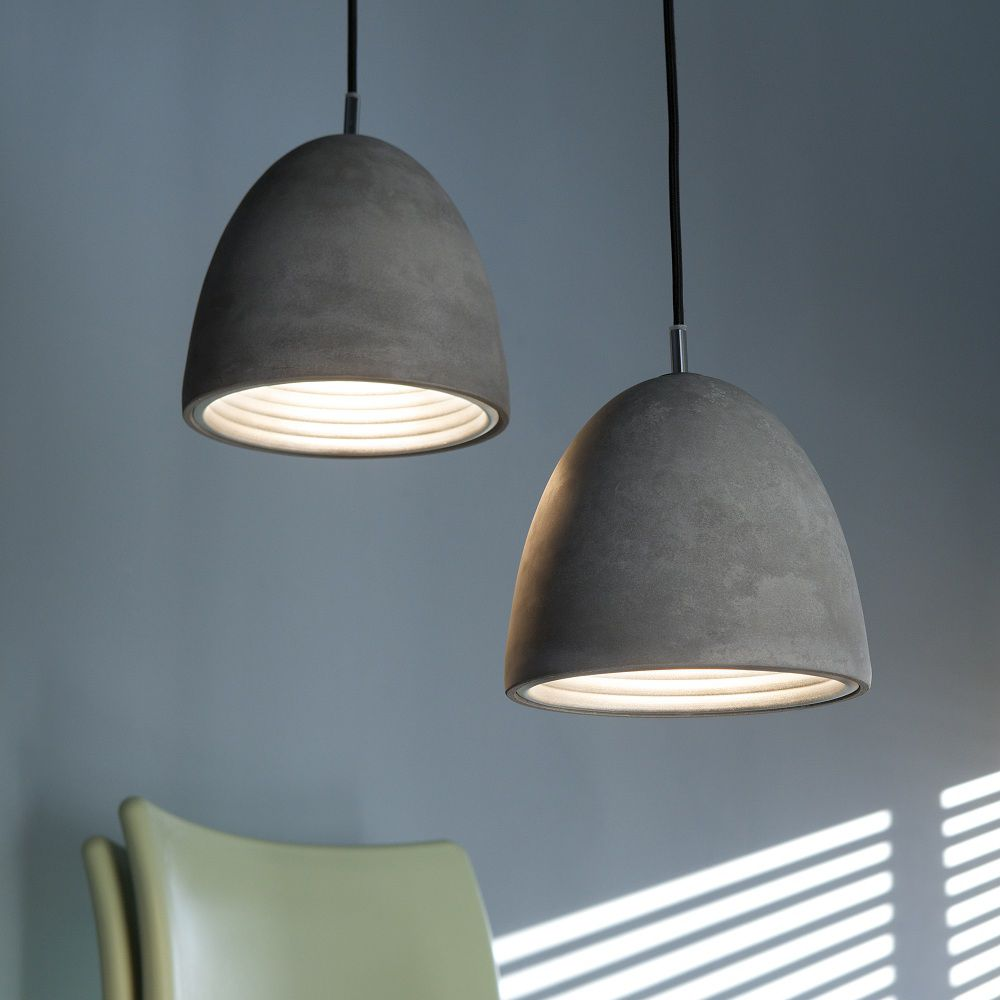 Concrete lamp - Forestier