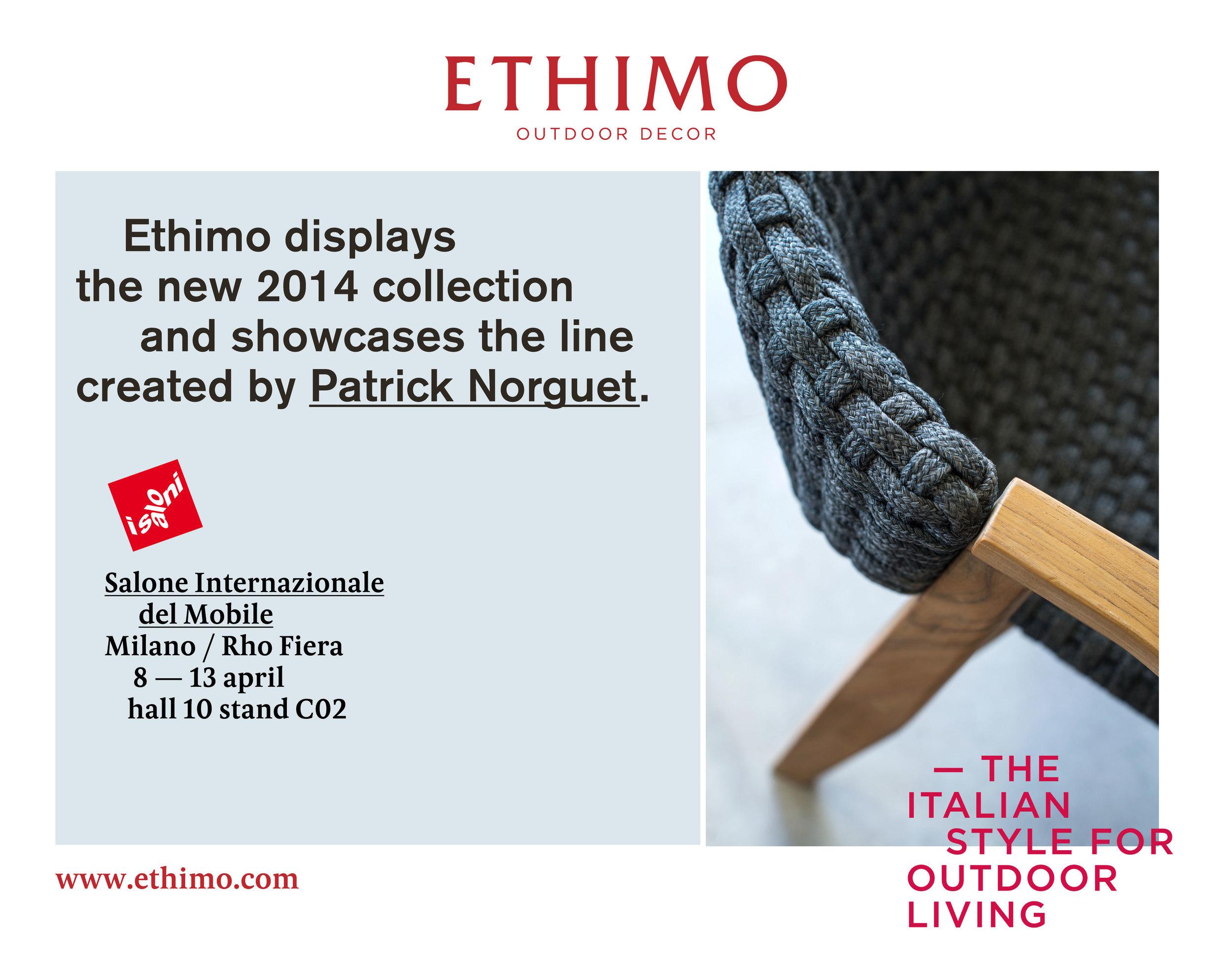 Ethimo Invitation