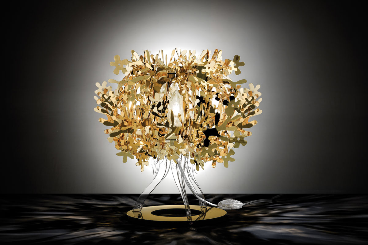 Fiorella Table Gold - Slamp
