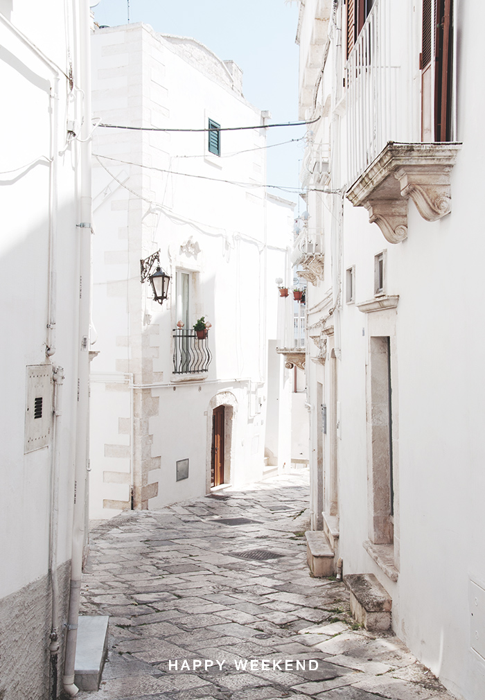 Happy Weekend November Martina Franca, Italy / Renae Smith
