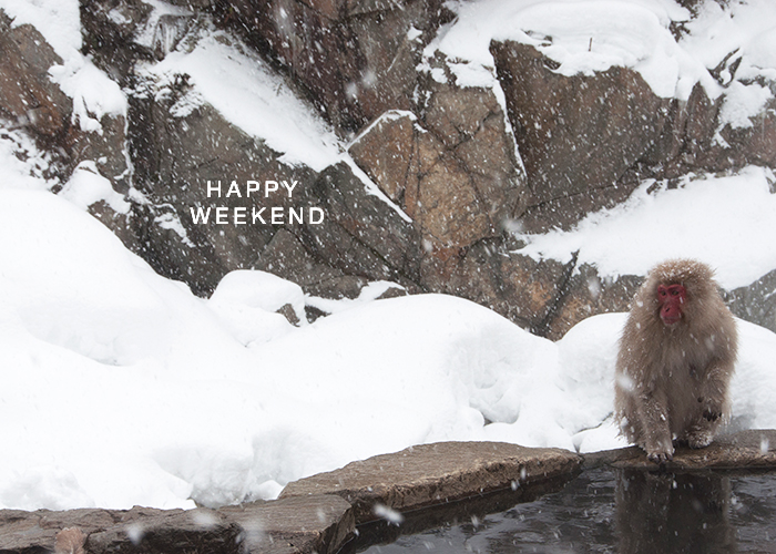 Happy Weekend Japan January 2015 / Renae Smith