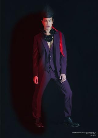 Lui Magazine, Oct 2014 ,Red Rebel