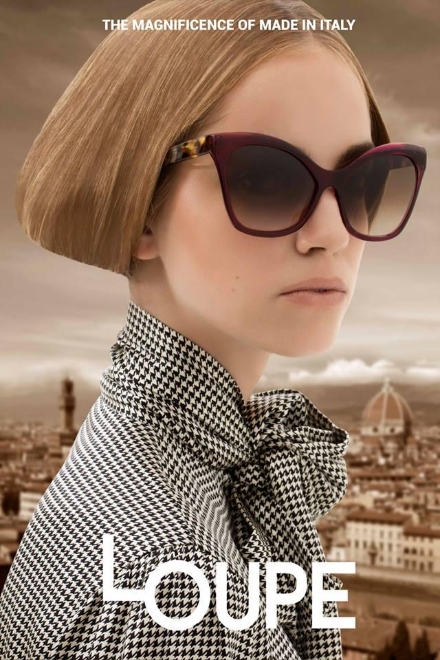 Loupe Eyewear Advertising