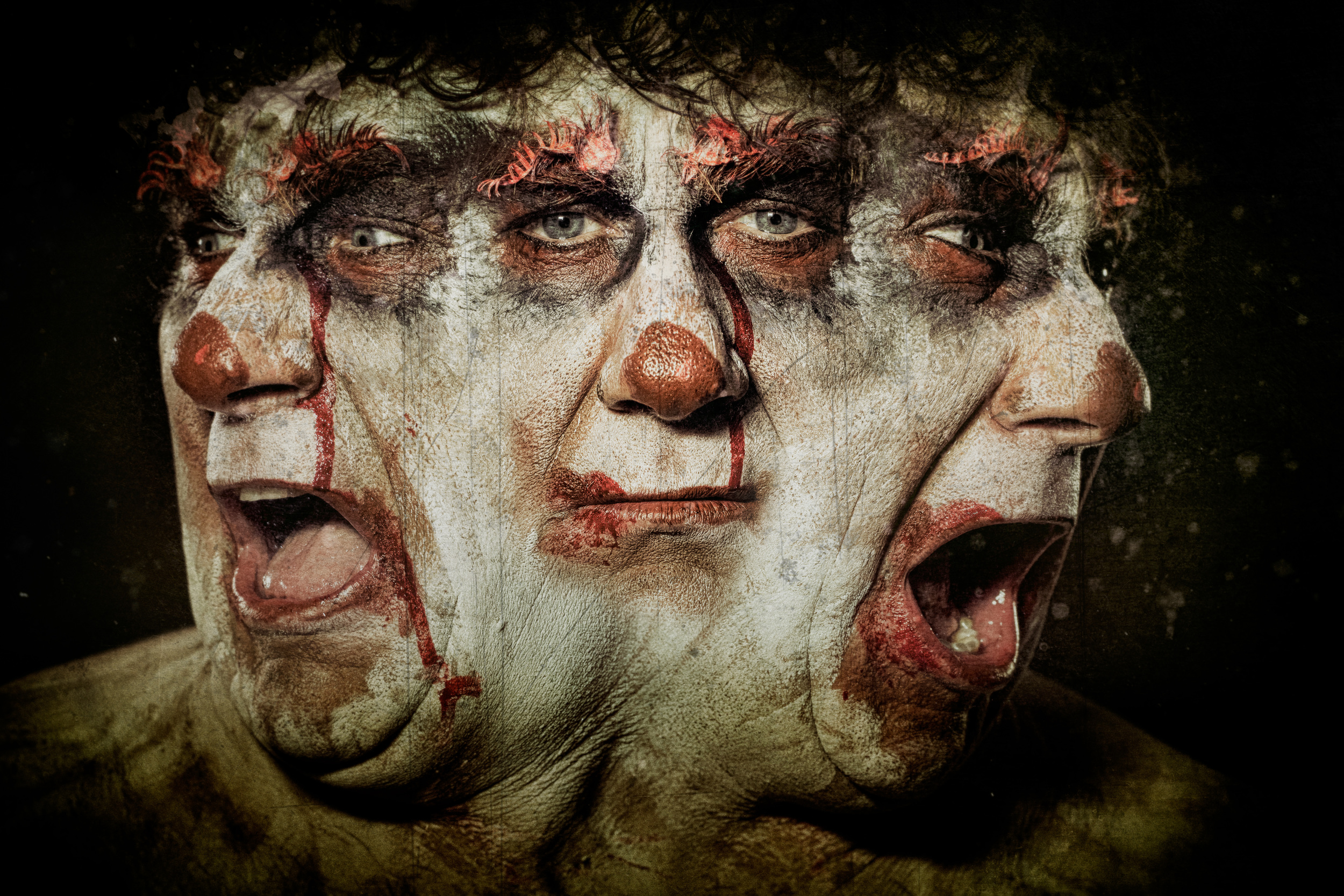 Clownville series: Larible
