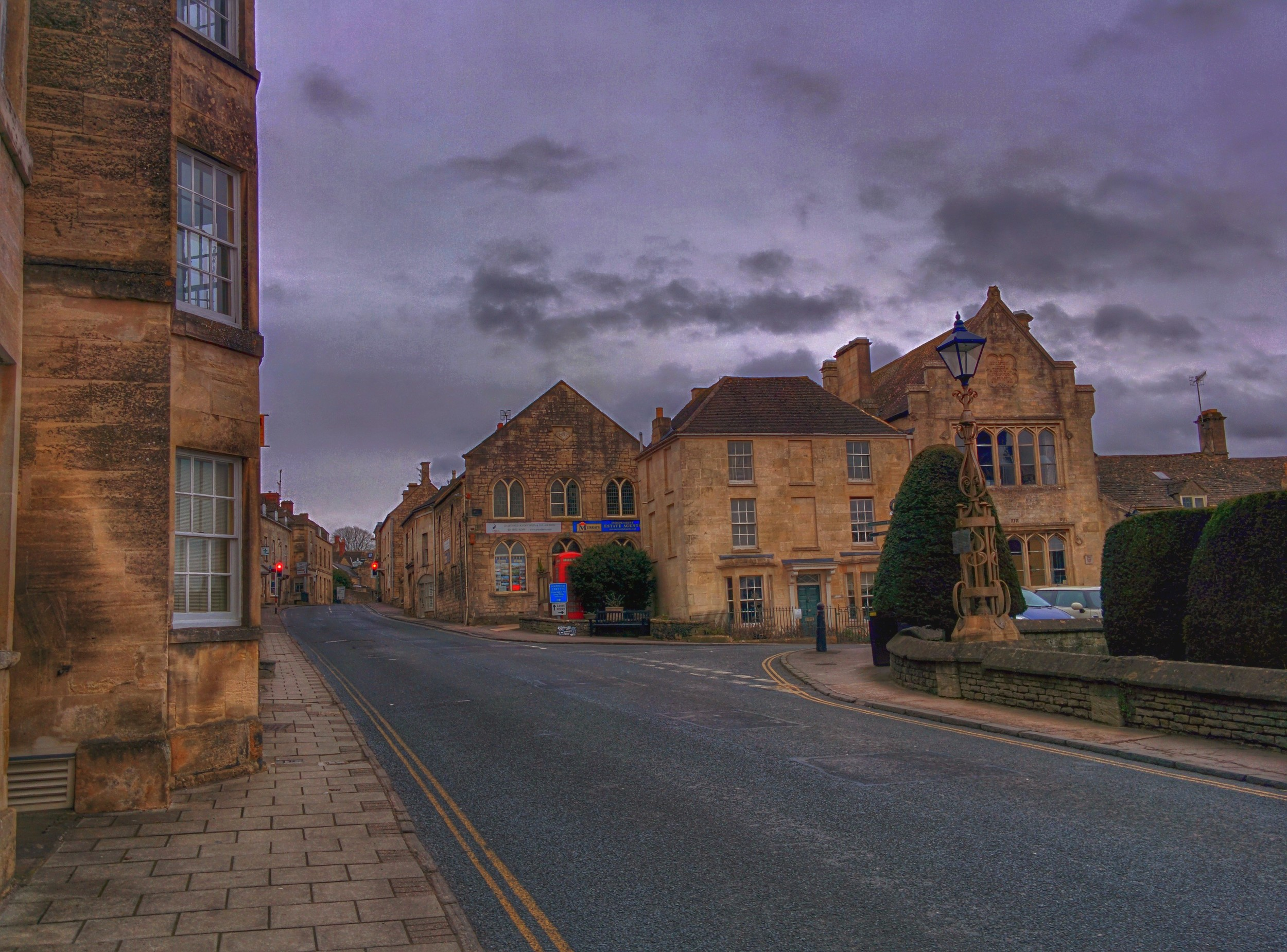 Painswick: Main street