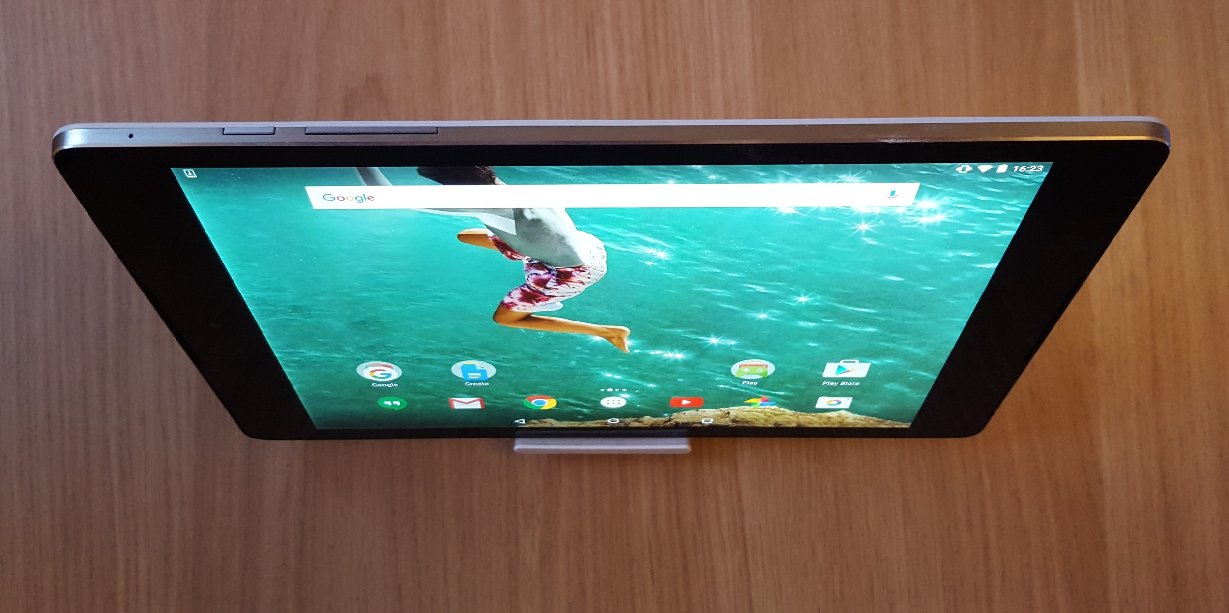The Nexus 9 is an excellent media consumption device. Great Stereo sound is a bonus